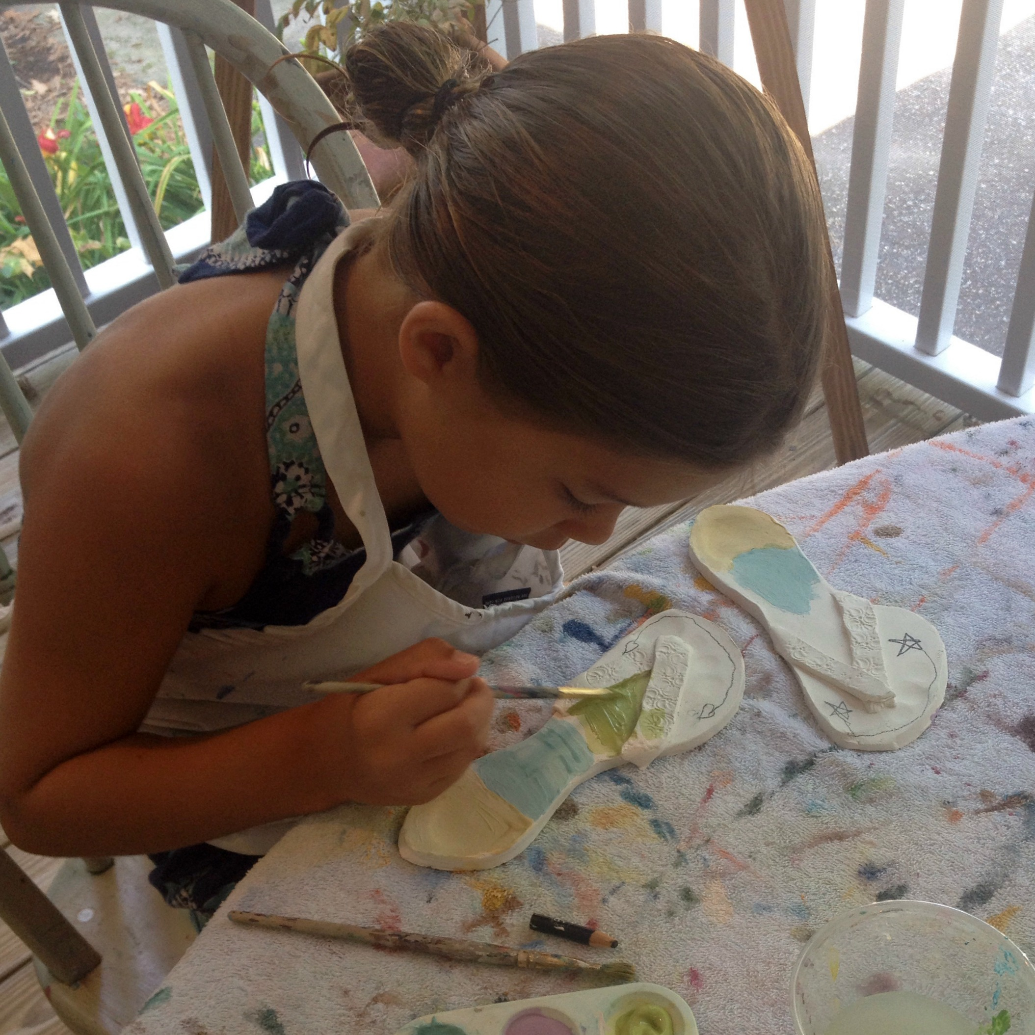 painting clay flipflops.jpg