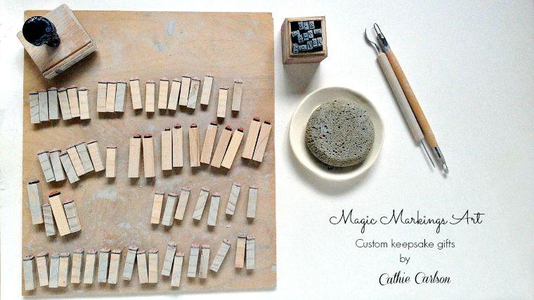 magic markings art by cathie carlson
