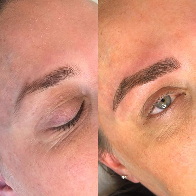 SEMI PERMANENT BROW TATTOOING
