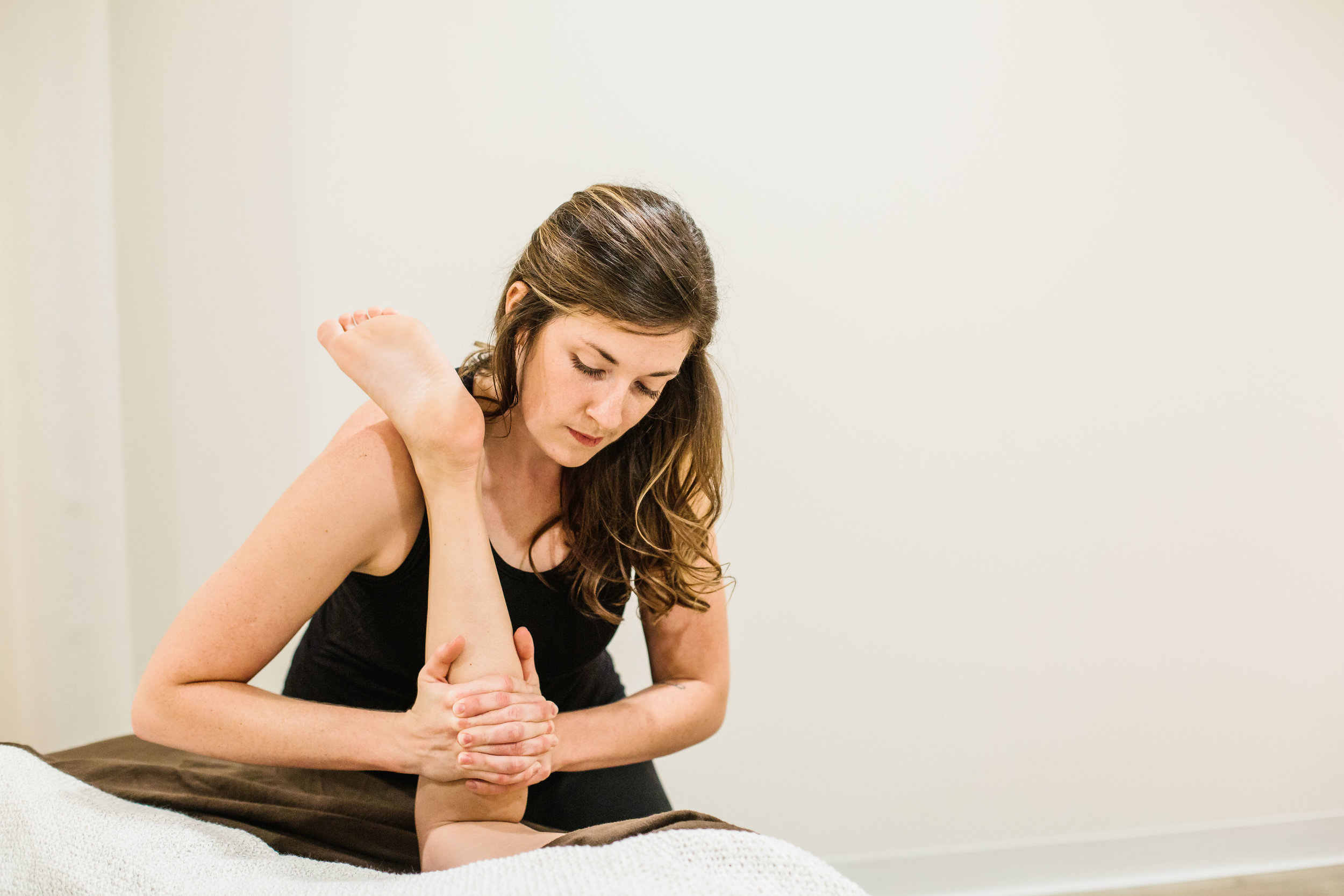 … - Brittany, the massage was amazing! My chronic neck pain has lessened and my muscles feel much more relaxed, stretched, and comfortable! THANK YOU! Also, loved getting to know you and appreciated how you explained the process and intention behind everything you did. I will definitely be scheduling again soon!