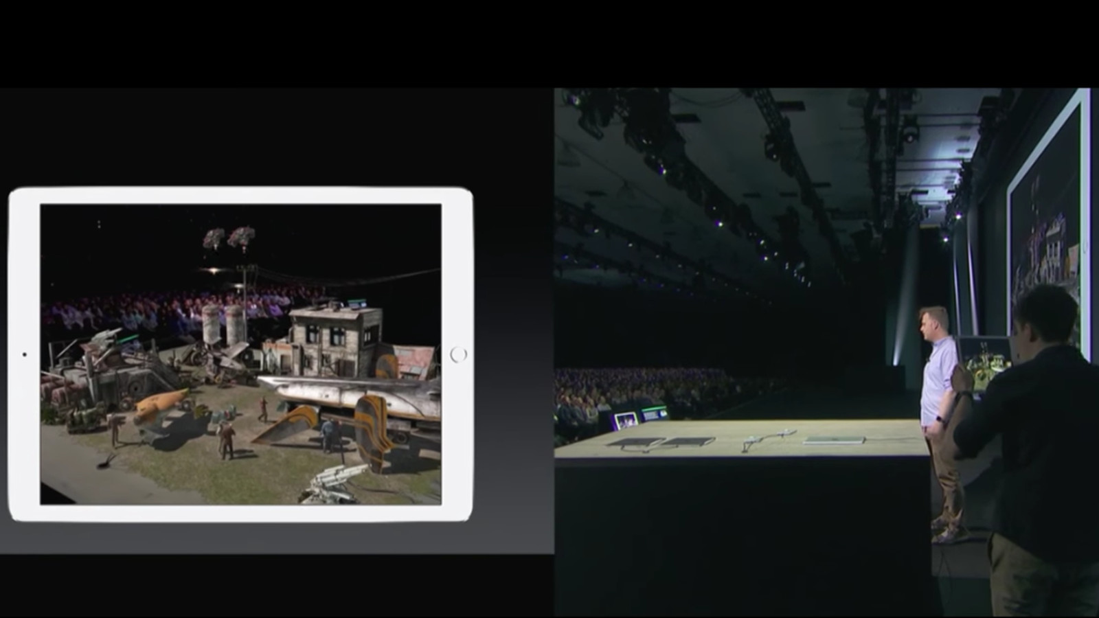 AR Kit Demo at  WWDC 2017  via WingNut Studio, game development company founded by film director, Peter Jackson