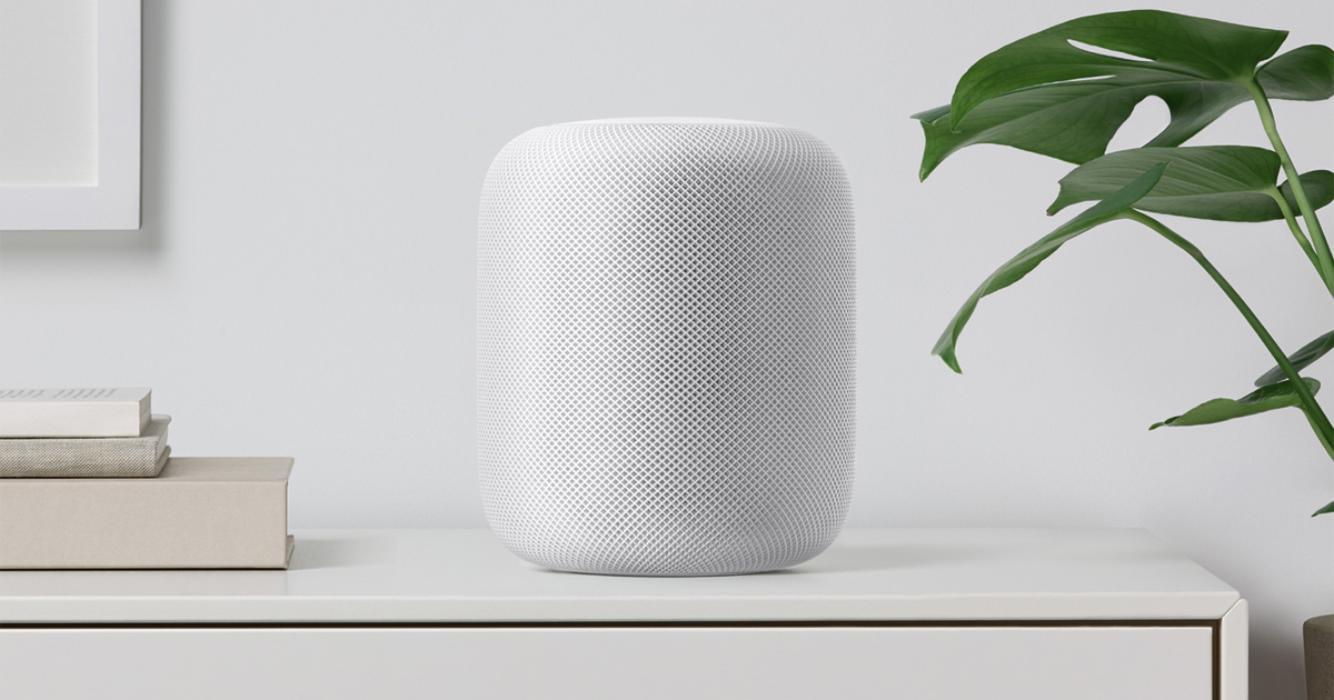 HomePod via  Apple.com