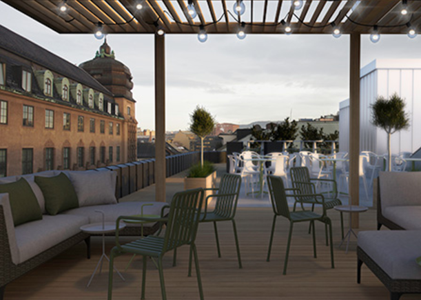 Elf in Oslo: Rooftop access and creative spaces for renewal