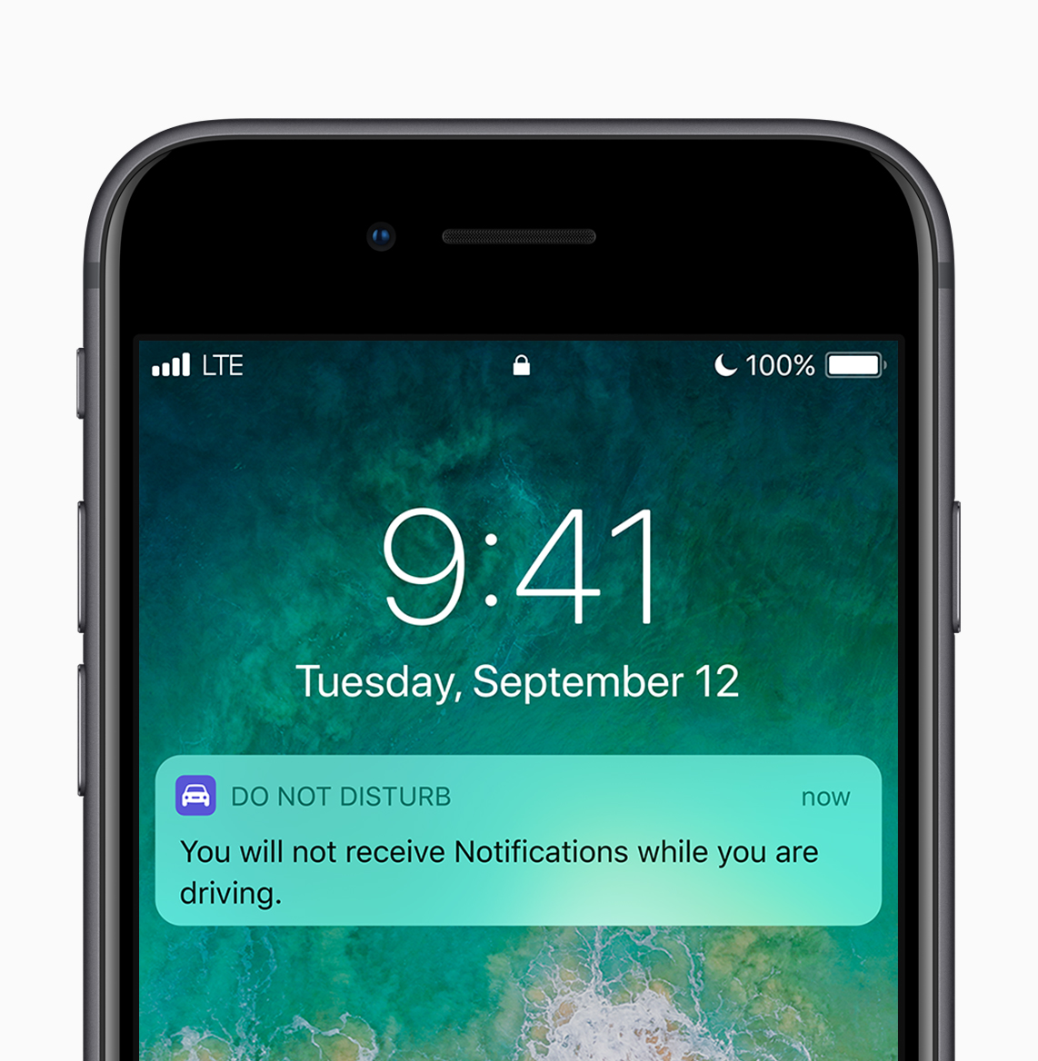 Do Not Disturb Notification via  Apple.com