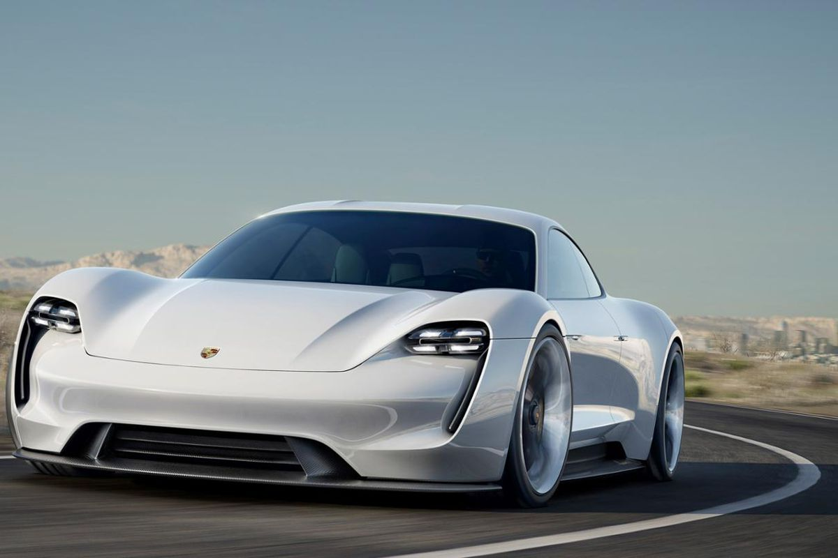 Porsche's Mission E electric car