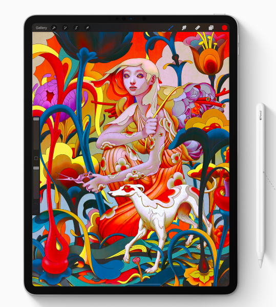 Image via  Apple  featuring James Jean's artwork