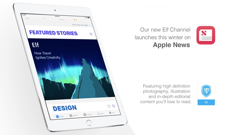 Elf channel on Apple News