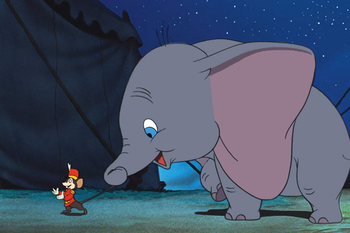 "Image from Disney's classic ""Dumbo"" (1941) via  Disney"