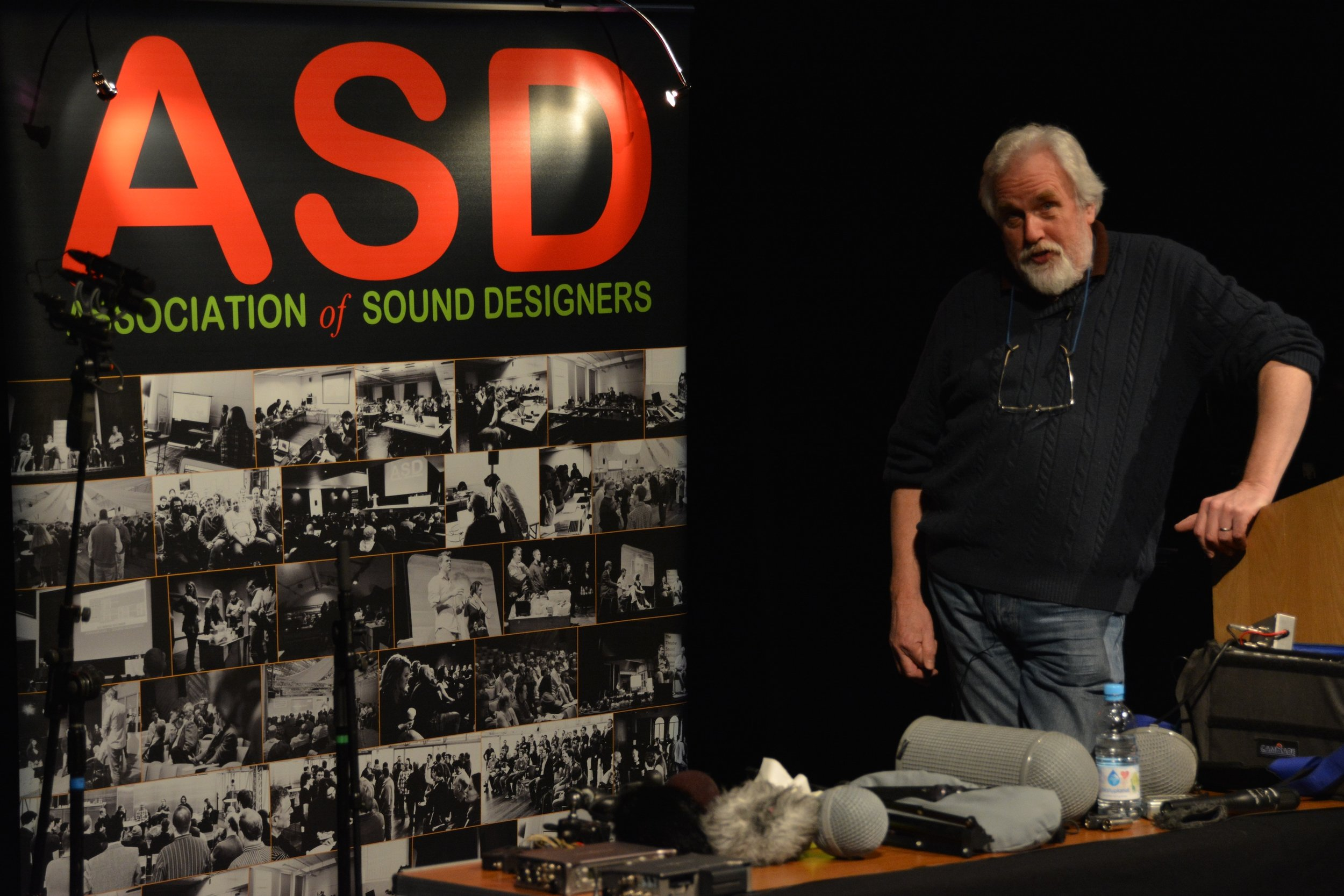 John Leonard on recording sound effects