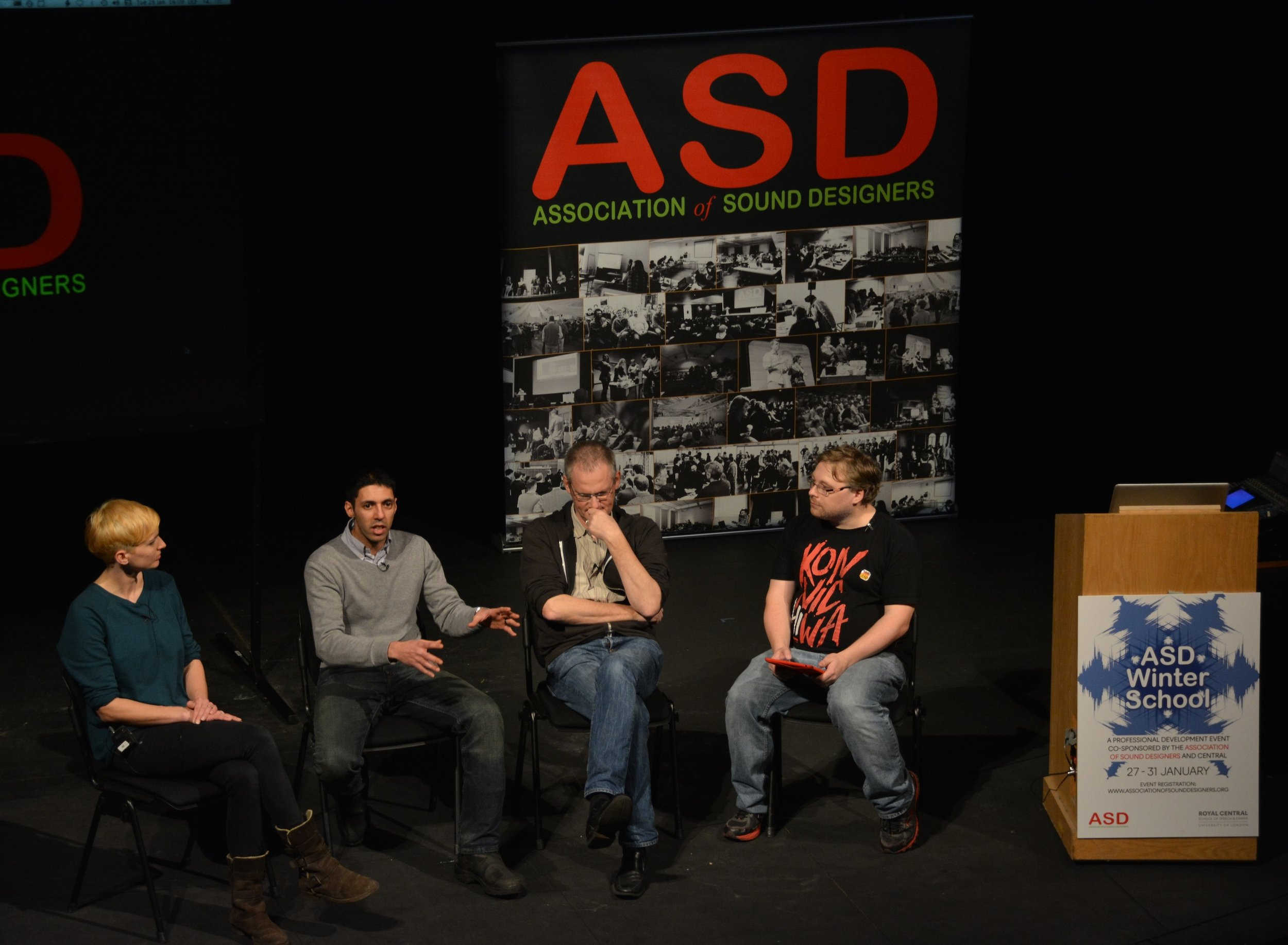 Panel discussion - keeping the performers onside