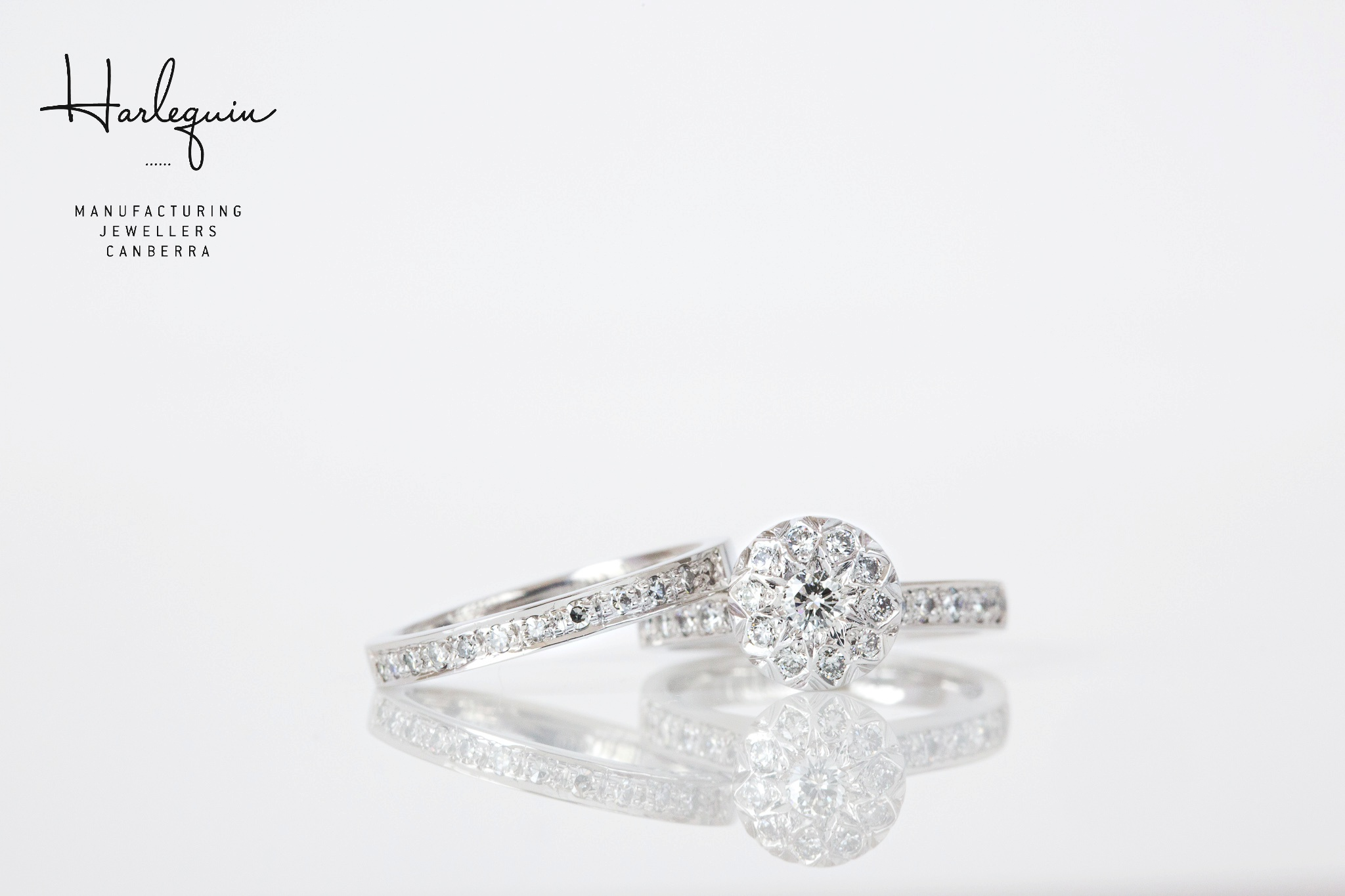 Remodelled illusion set diamond engagemeng ring - Harlequin Jewellers Canberra.jpg