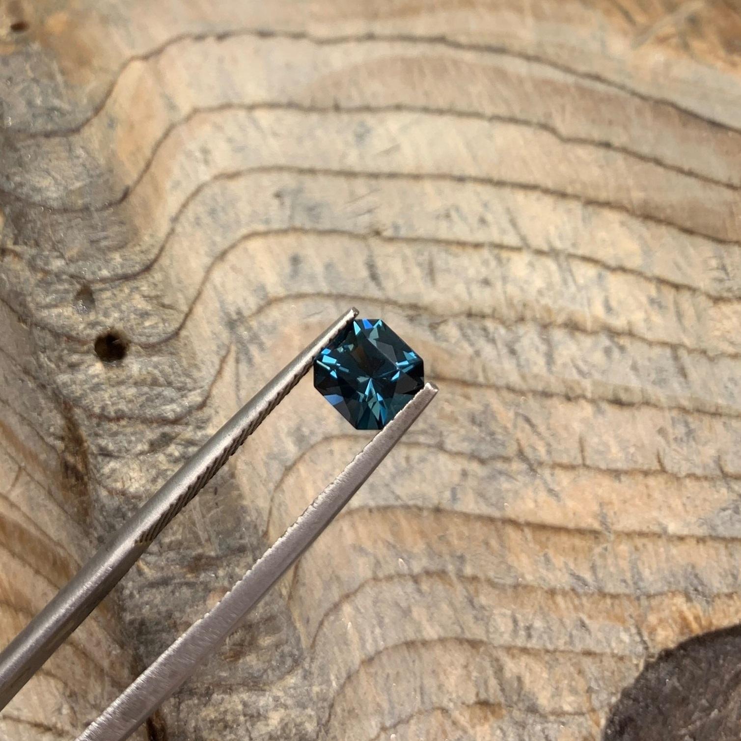 Blue spinel.