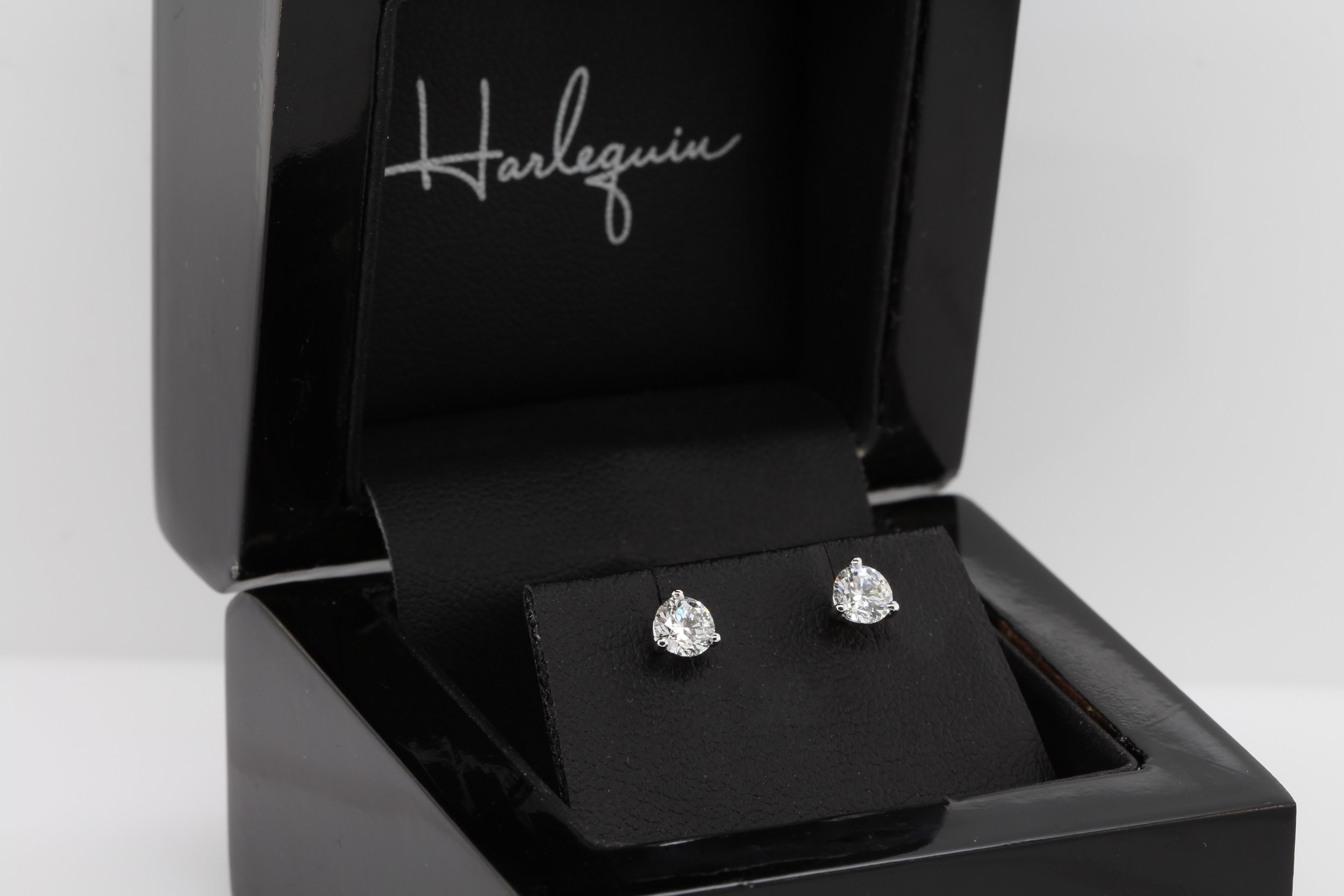 A pair of diamond studs are a classic addition to a jewellery collection, and can be worn for many years to come.