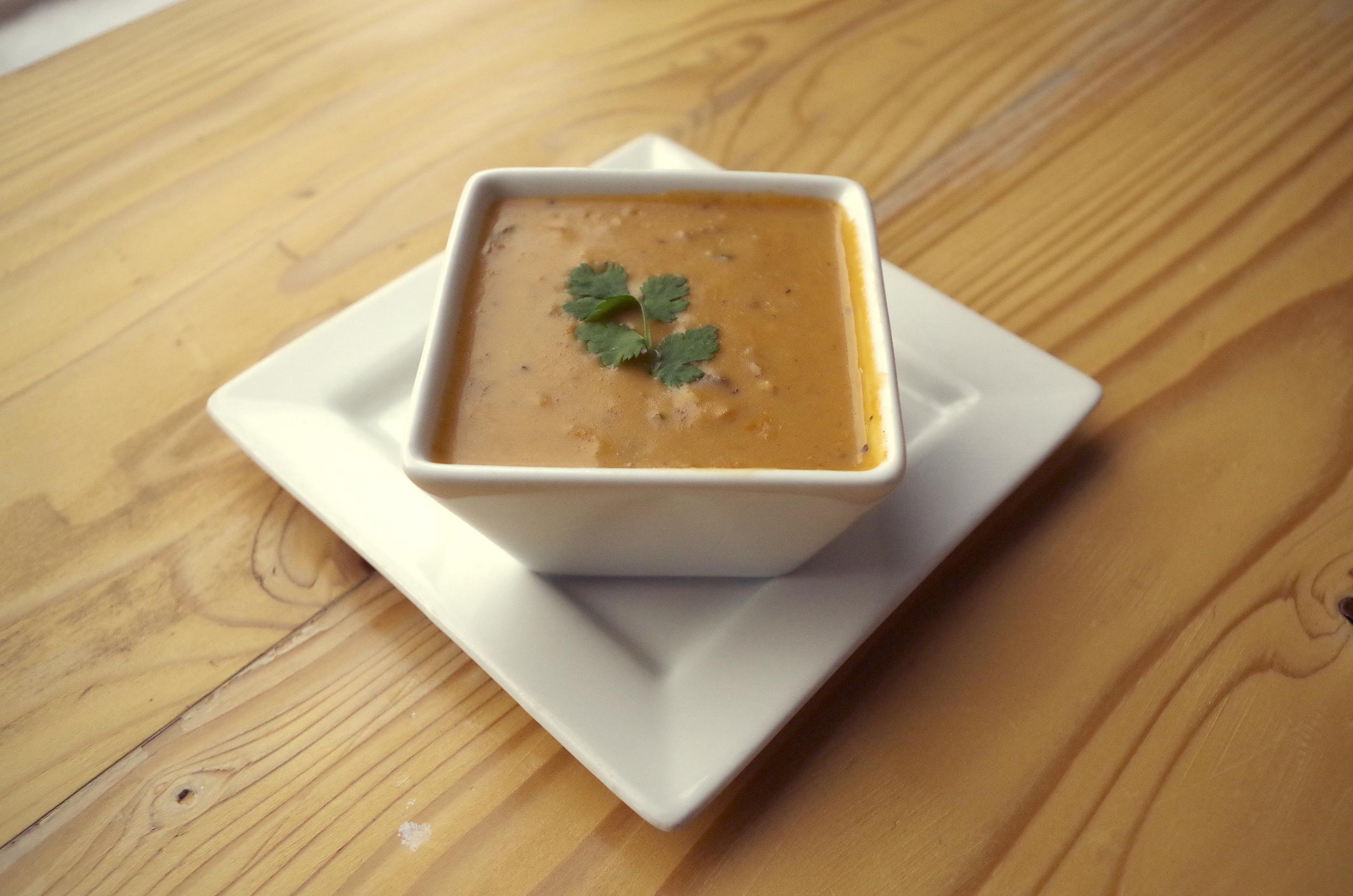 Mushroom Brie Soup