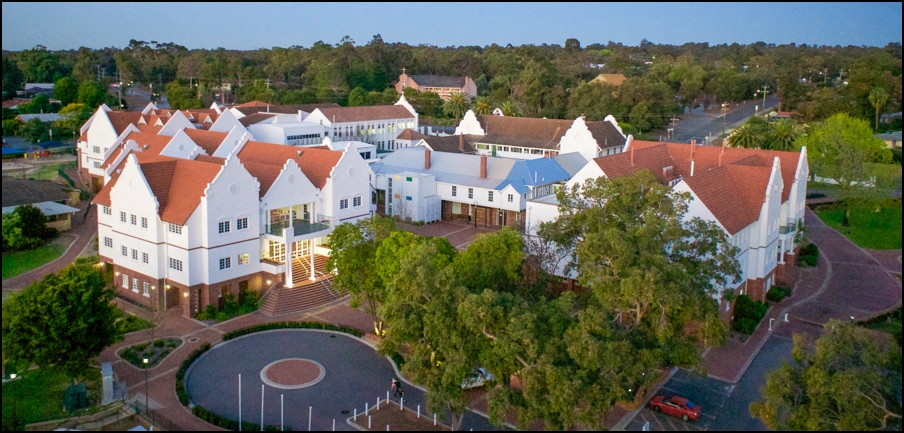 St briGid's College, Lesmurdie.  Click Here  to see a short video of the College from the air!