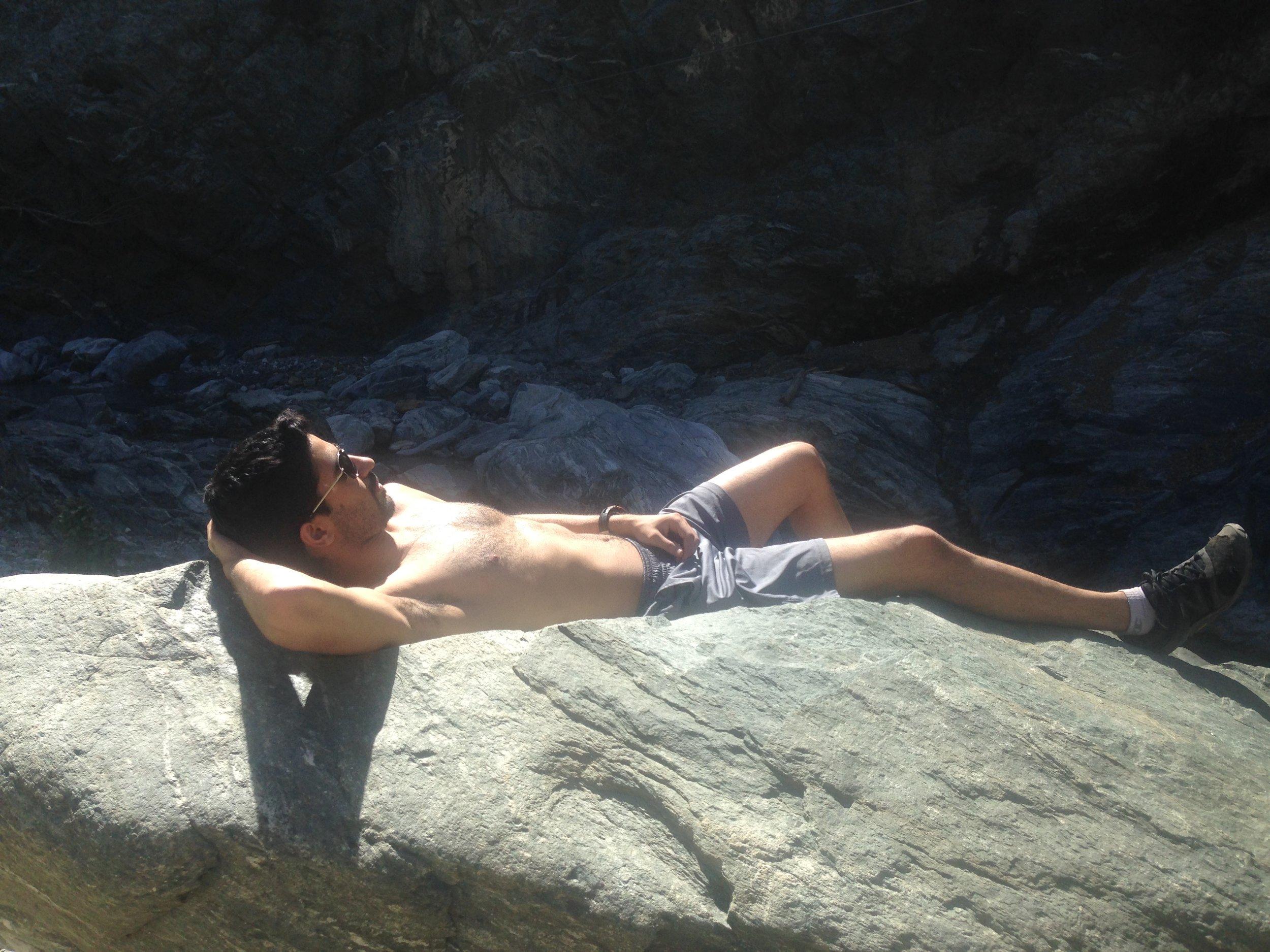 Omid Sleeping