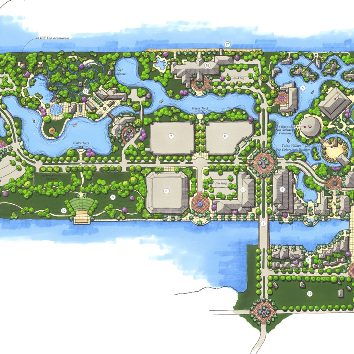 Arawak Island Master Plan