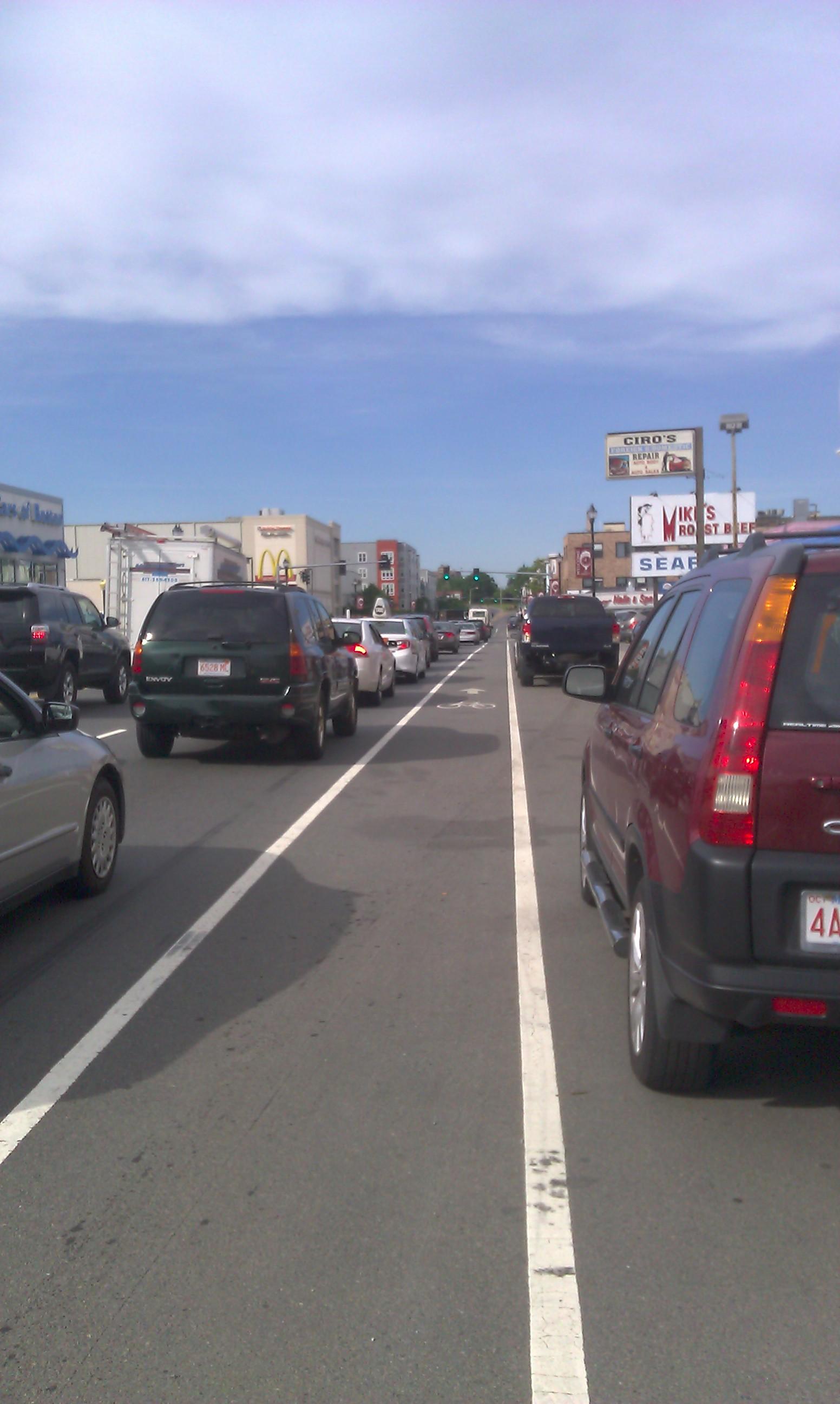 Not bikes ... (Route 99, Everett)