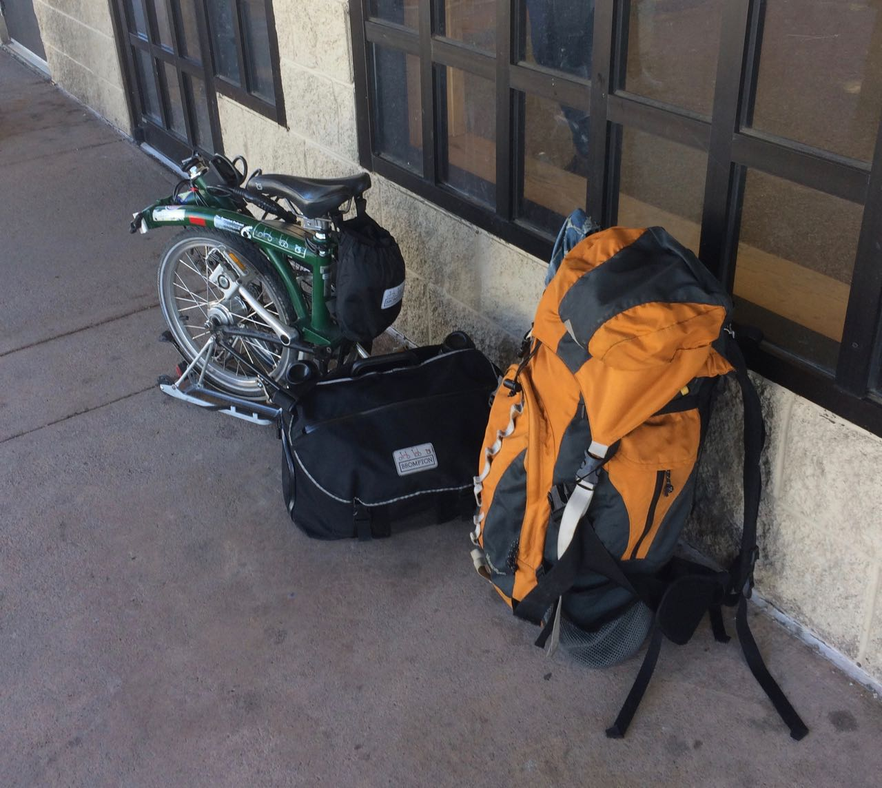 Waiting for the Bus in Frisco, CO