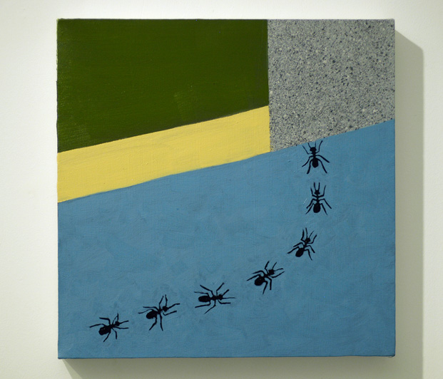 Exiting Ants