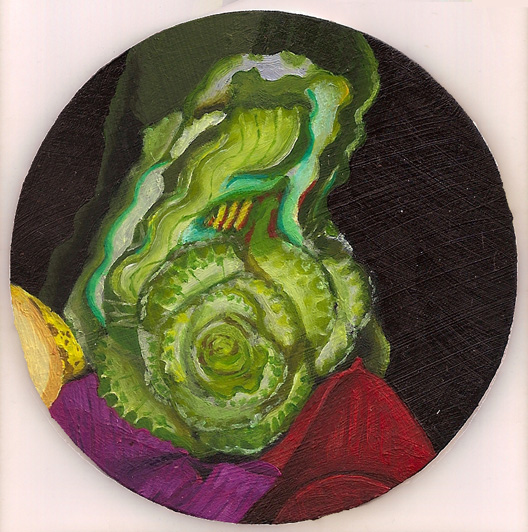 Scan Still Life with Cabbage