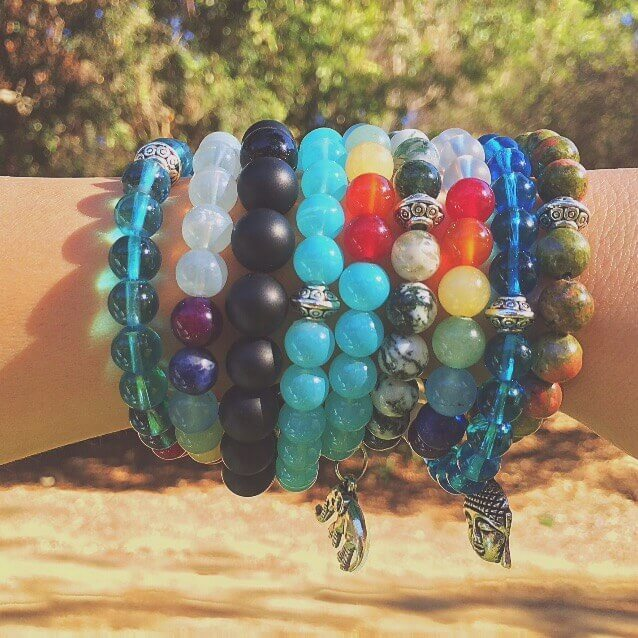 7 Chakra Beaded jewelry