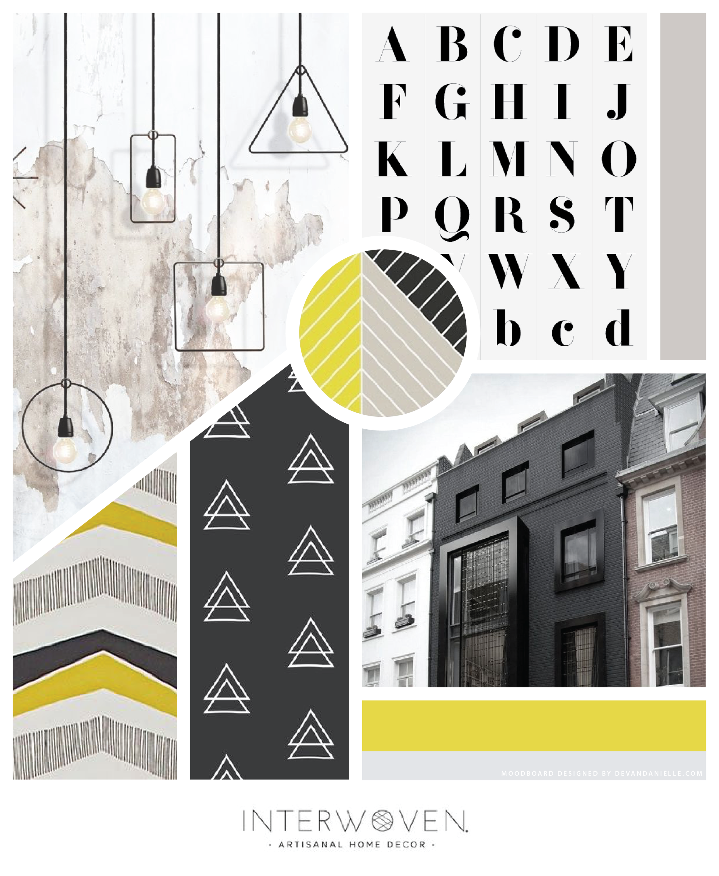 Moodboard created by yours truly for Lauren's rebrand.
