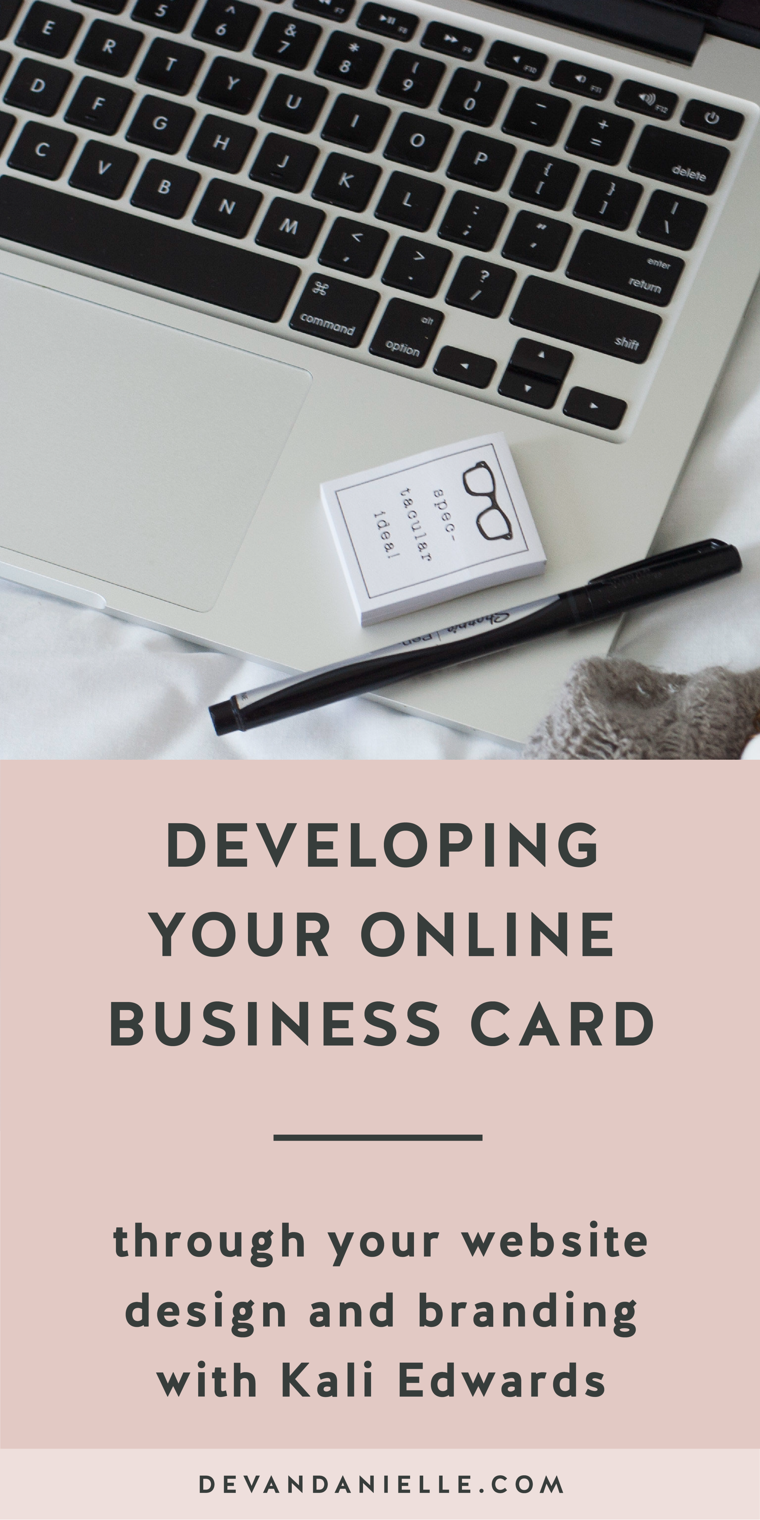 Developing Your Online Business Card