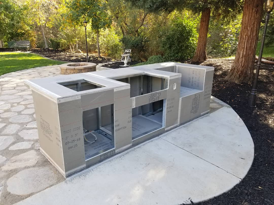 Image of: Pre Built Bbq Islands Creative Outdoor Kitchens