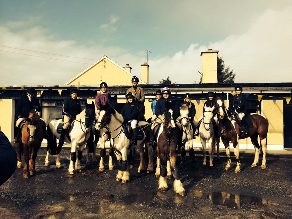 Nenagh Equestrian Centre are ready for the Ballycommon Charity Ride