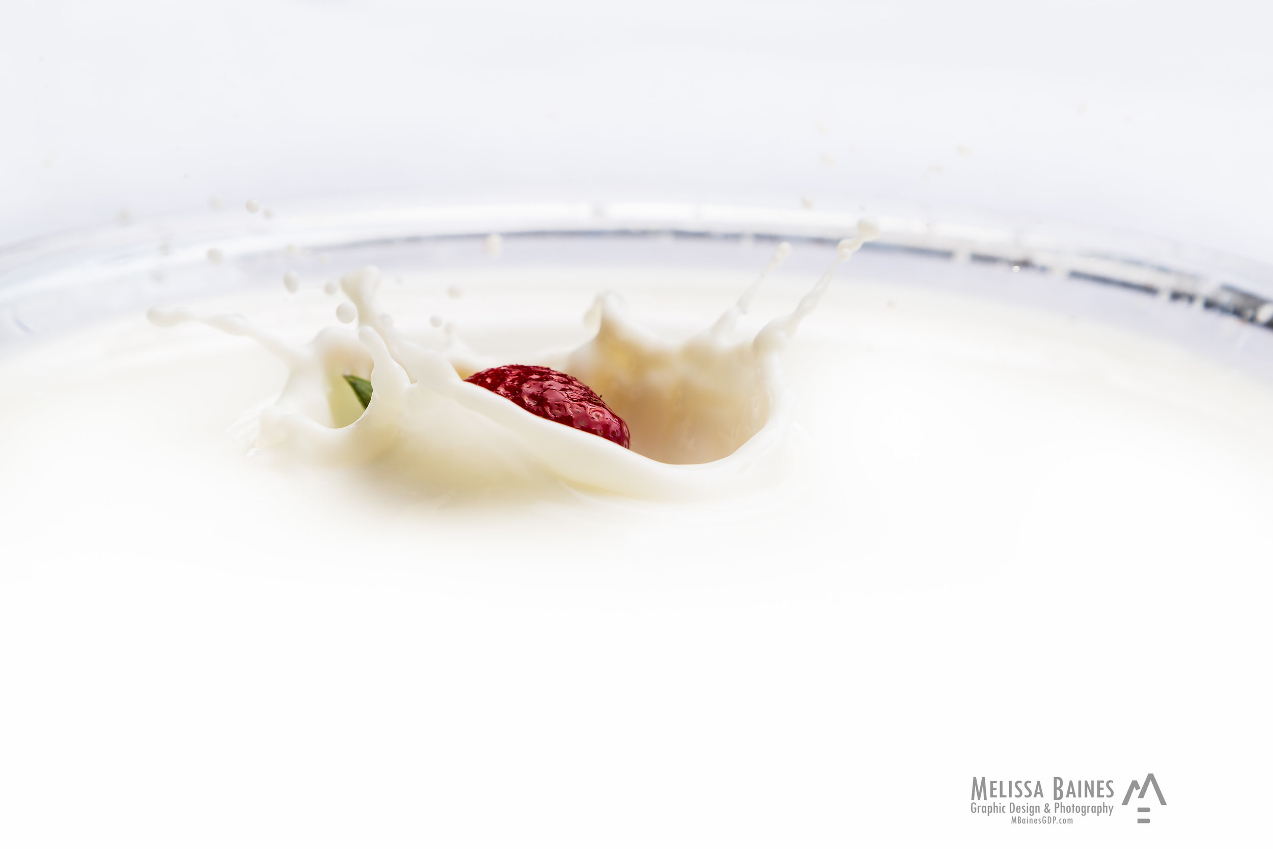 Strawberry in Milk