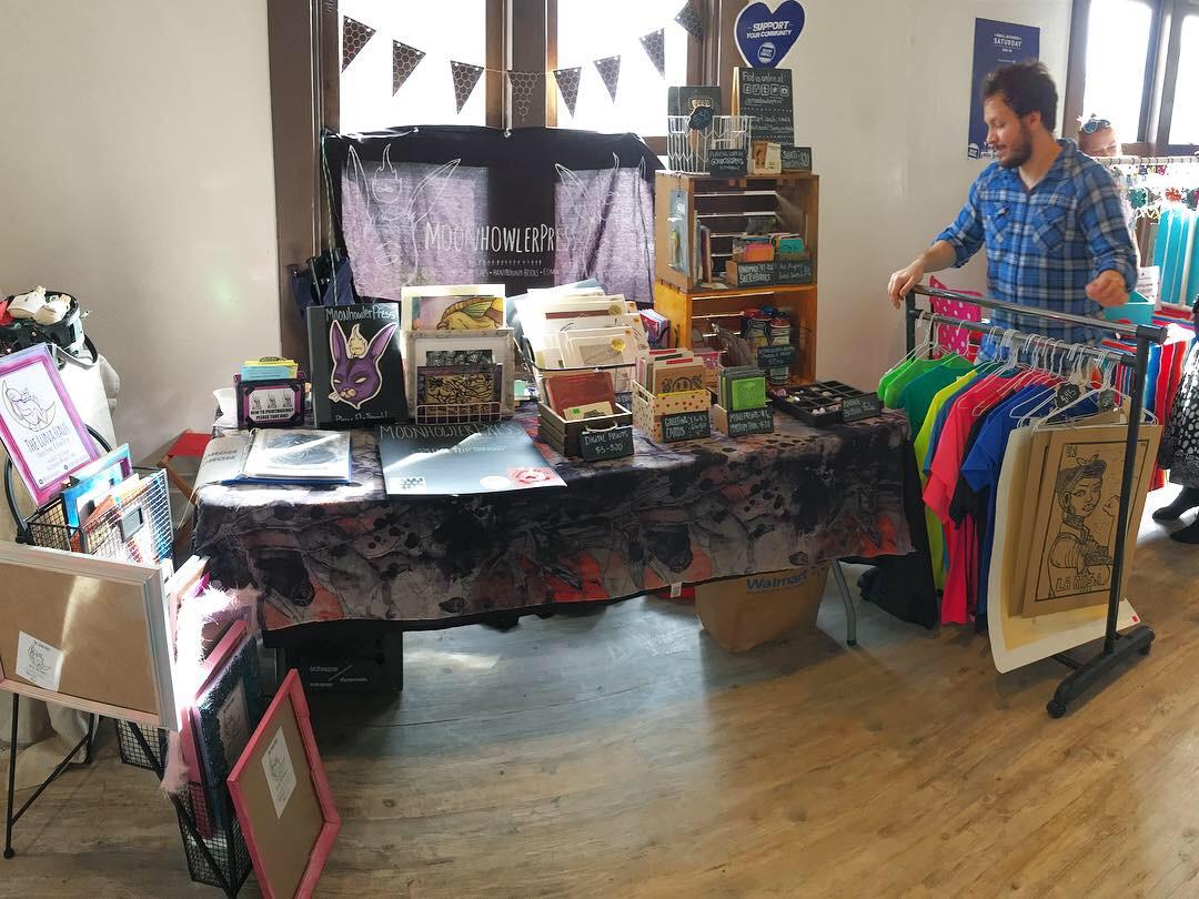 Hecho a Mano's Small Business Saturday @ Cultura, Laredo TX - 2018