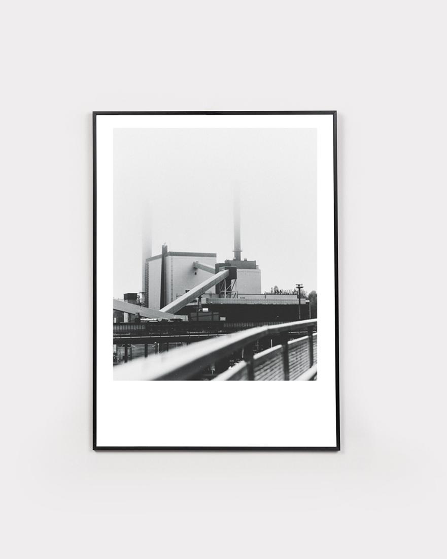 Tehdas | Tampere - 30x40cmAlkaen 45€