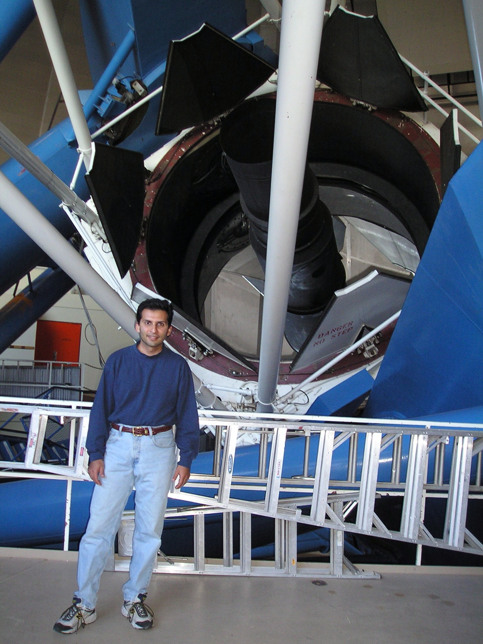 June 2004: At the 4-meter telescope at Kitt Peak National Observatory in Arizona, US
