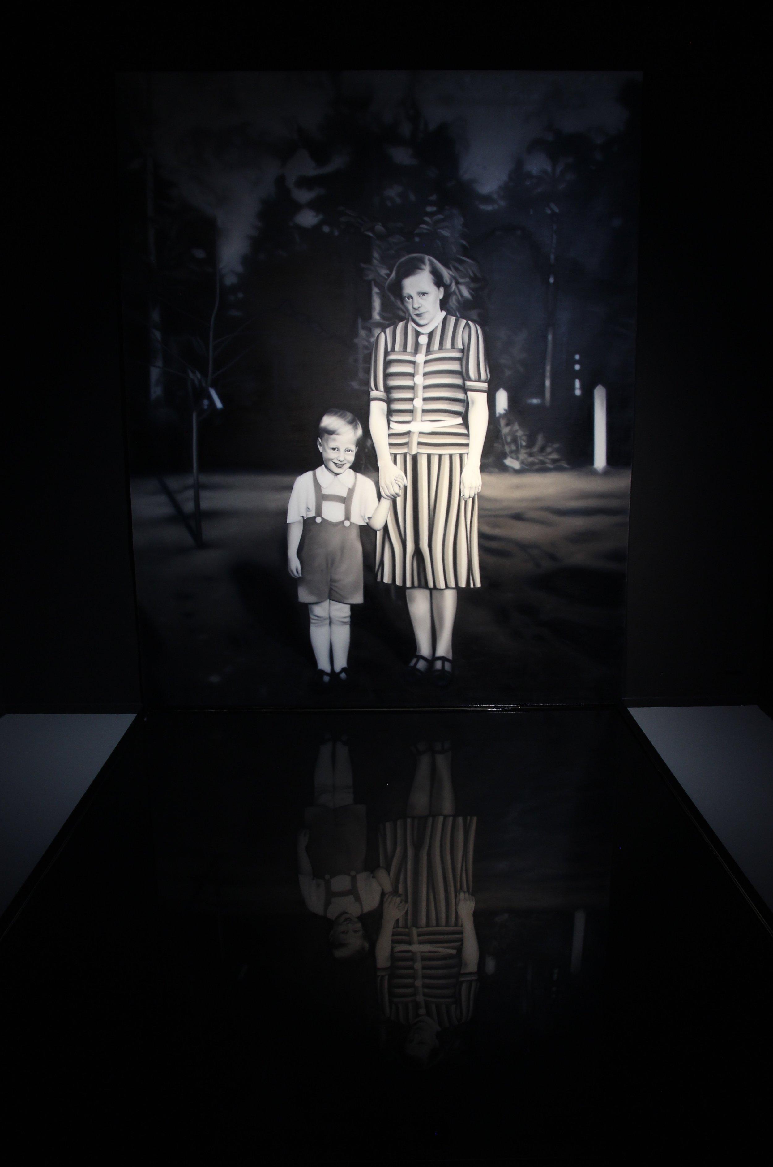 Morfar och hans mor, Project Room.jpg