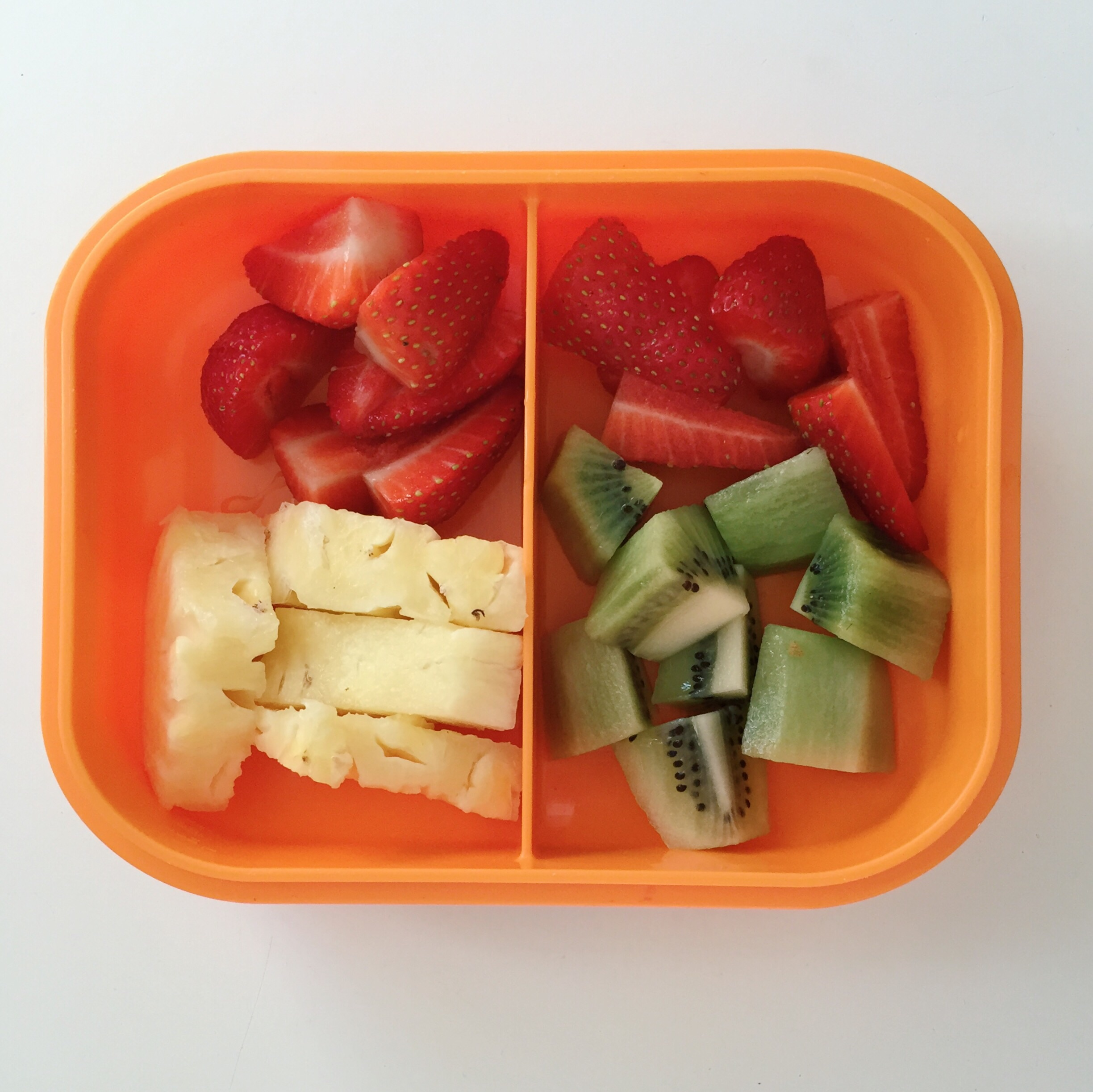 Morning tea prepared to take to the park