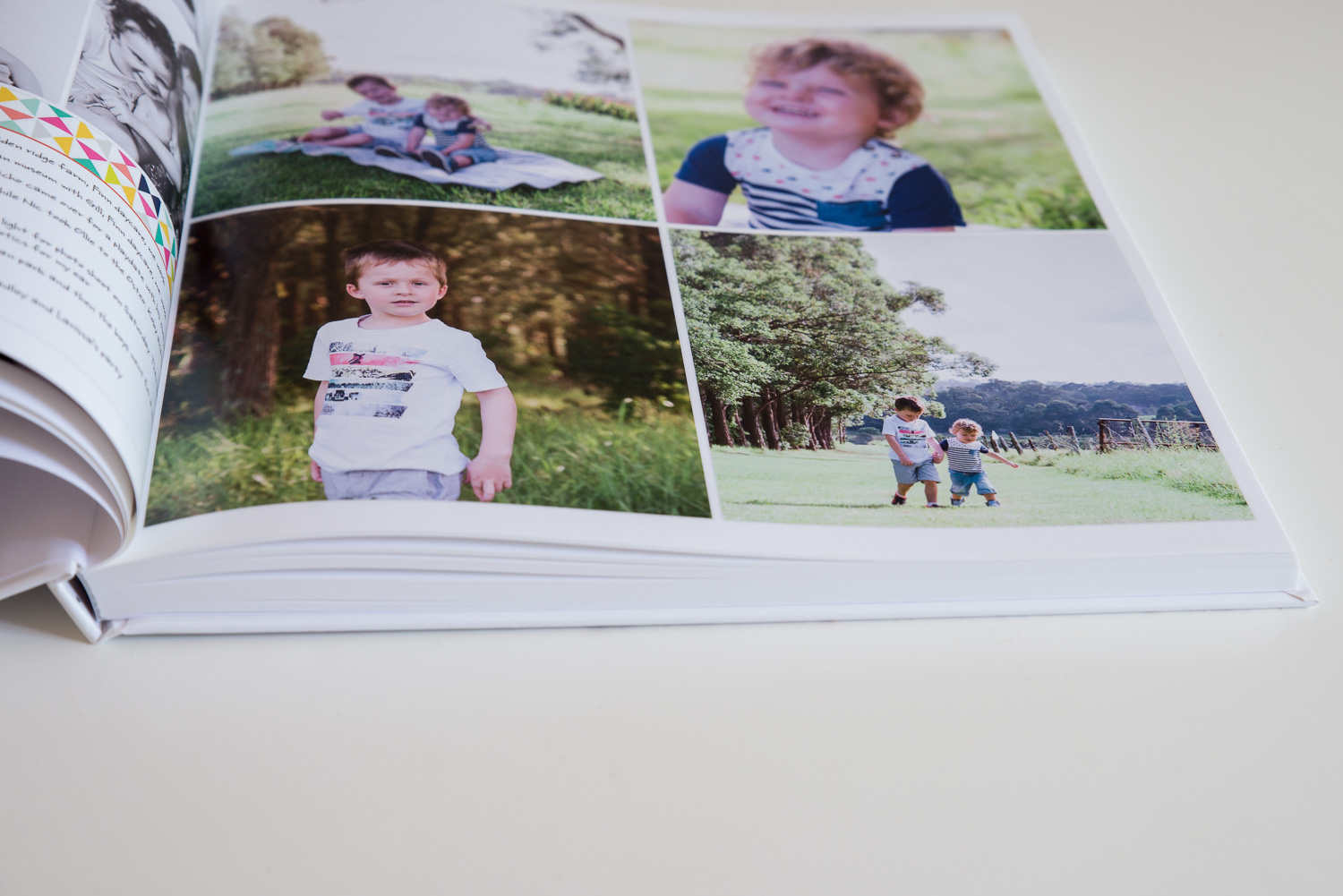 154 pages of photos to capture our year!