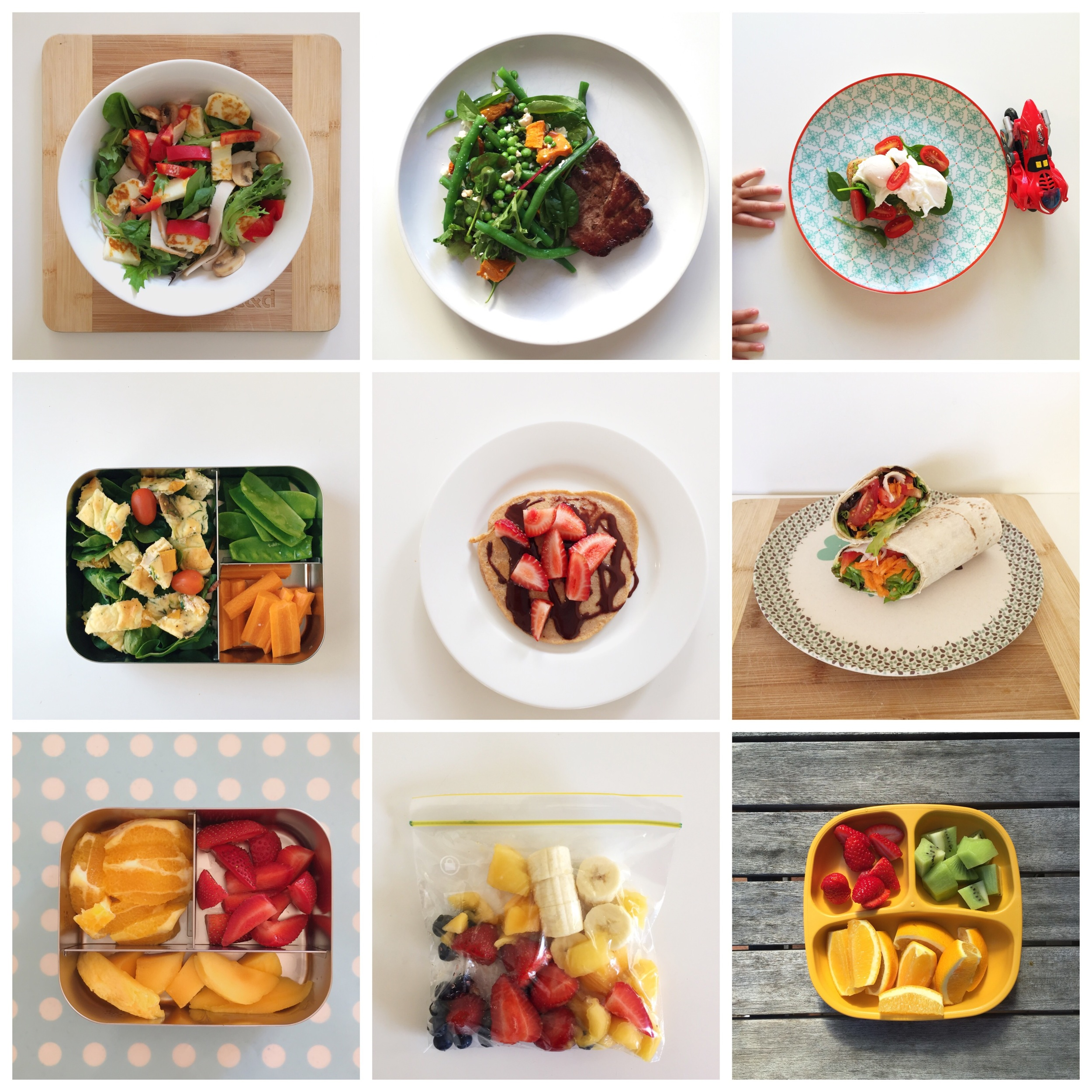 Some of the healthy food I ate over the last 12 weeks. Preparing meals in advance was the key to sticking with the healthy eating for me.