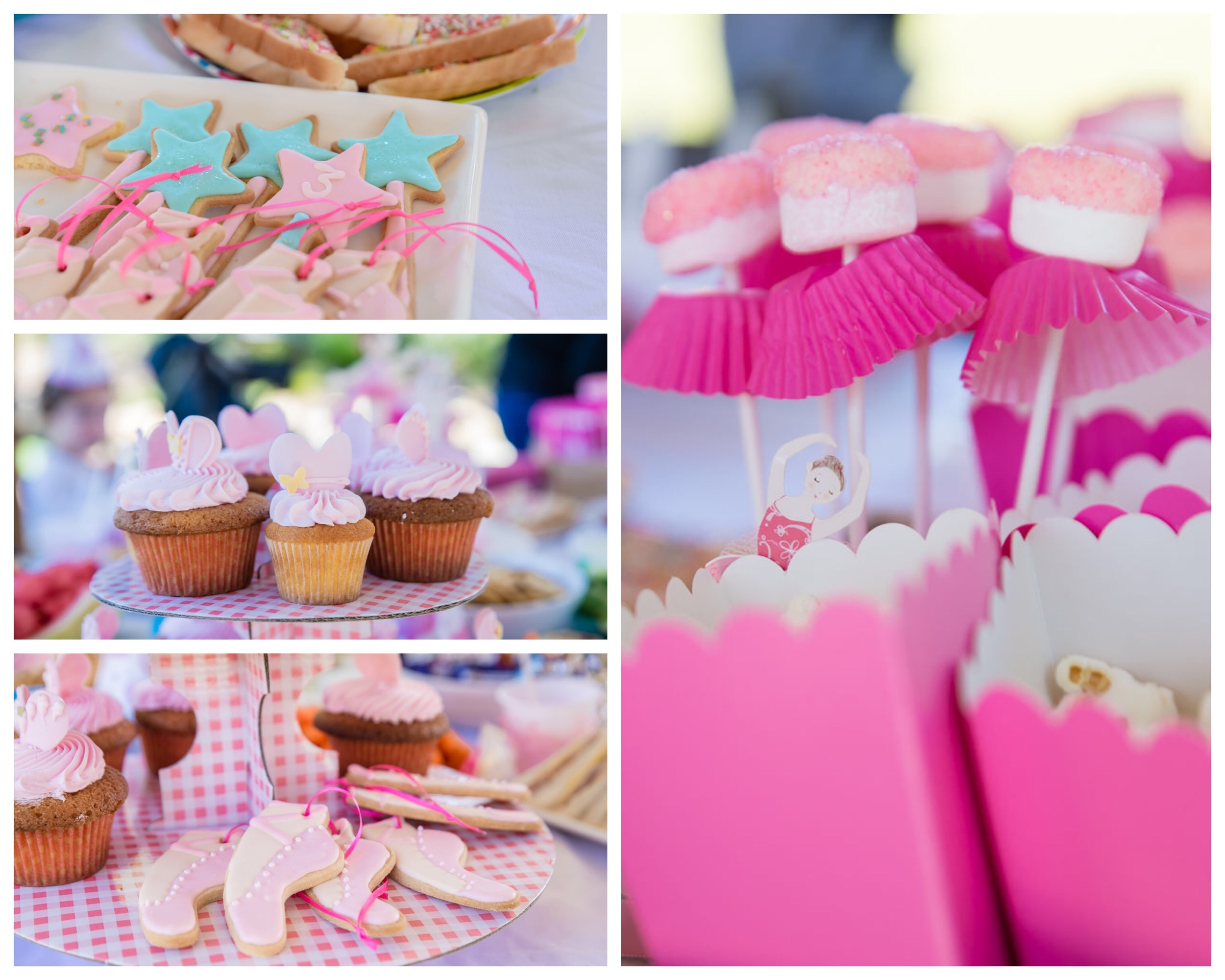 A pink, princess, ballet party for a 3 year old