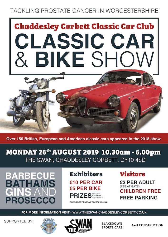 Classic Car And Bike Show The Swan Inn
