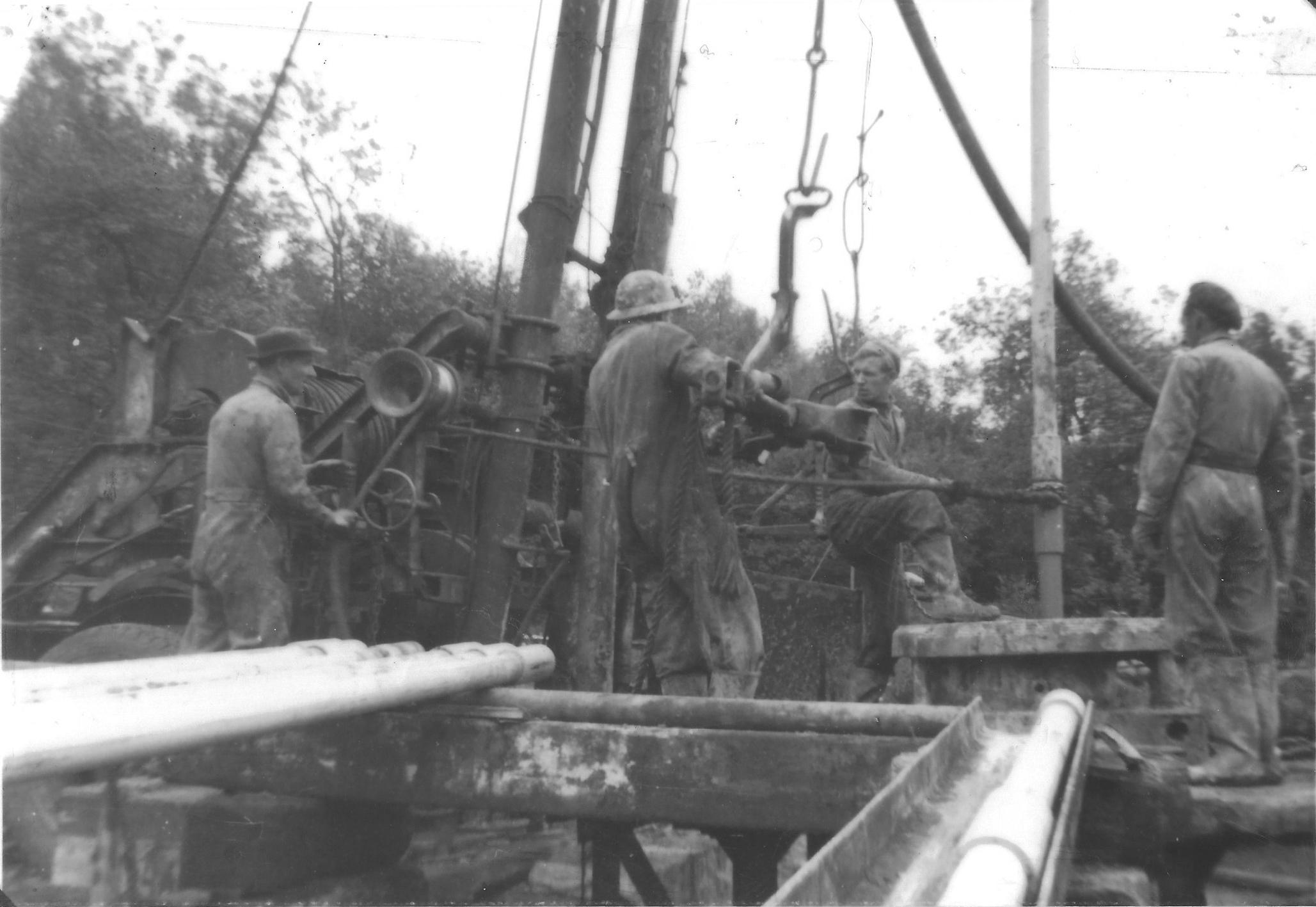 Duke's Wood Oil Workers
