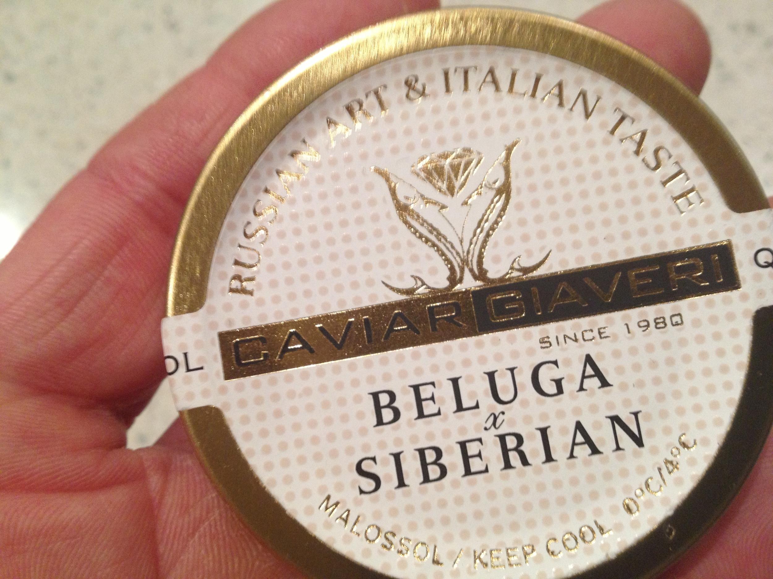 Russian caviar...