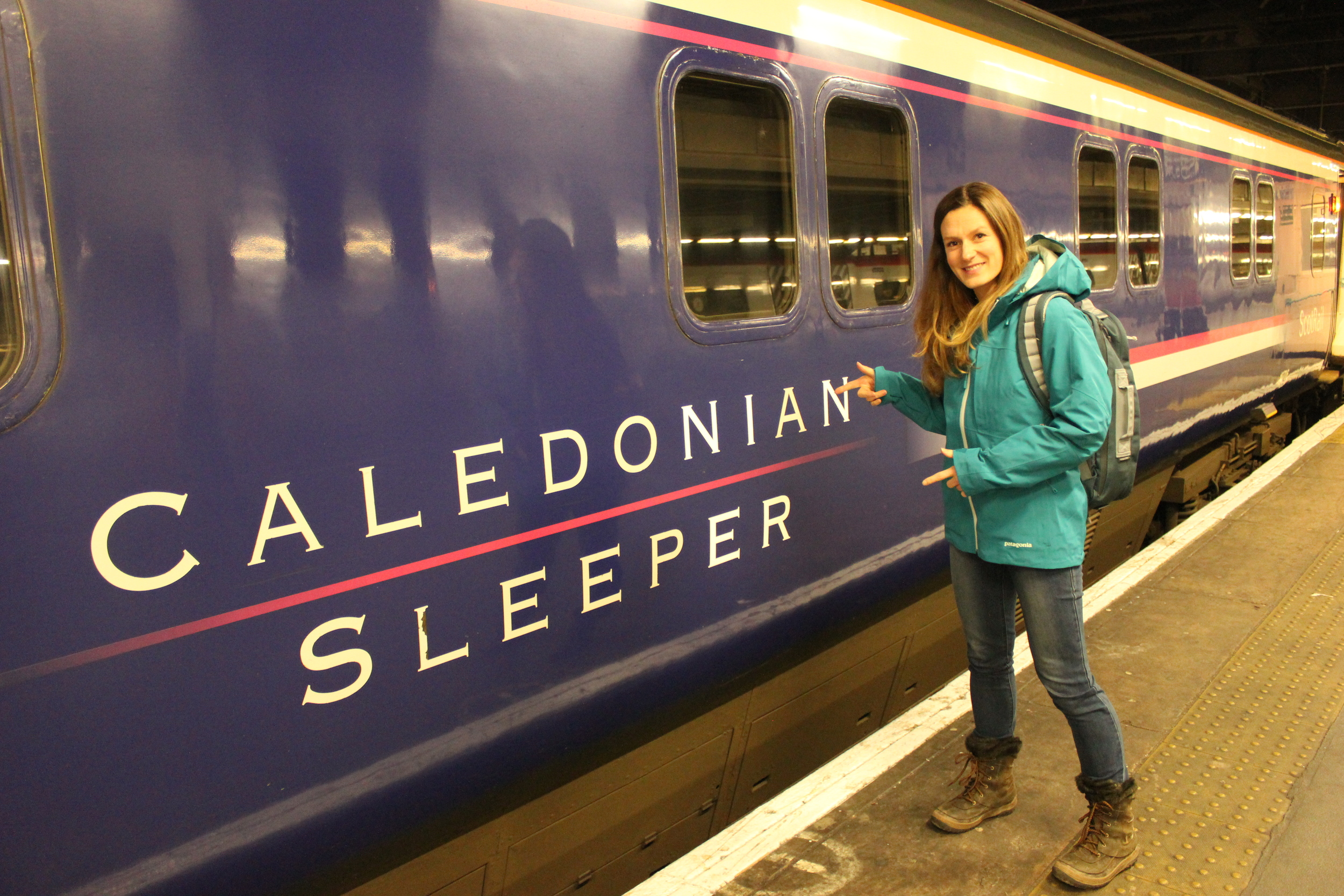 Catching the sleeper train from London