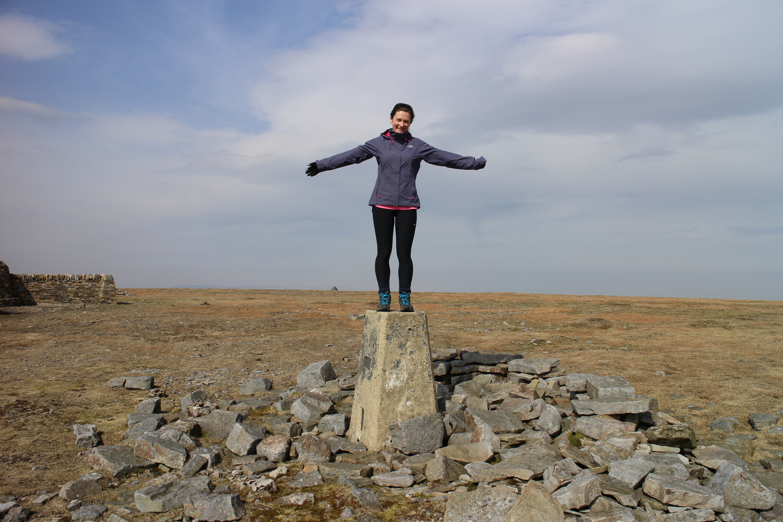 At the Cross Fell summit