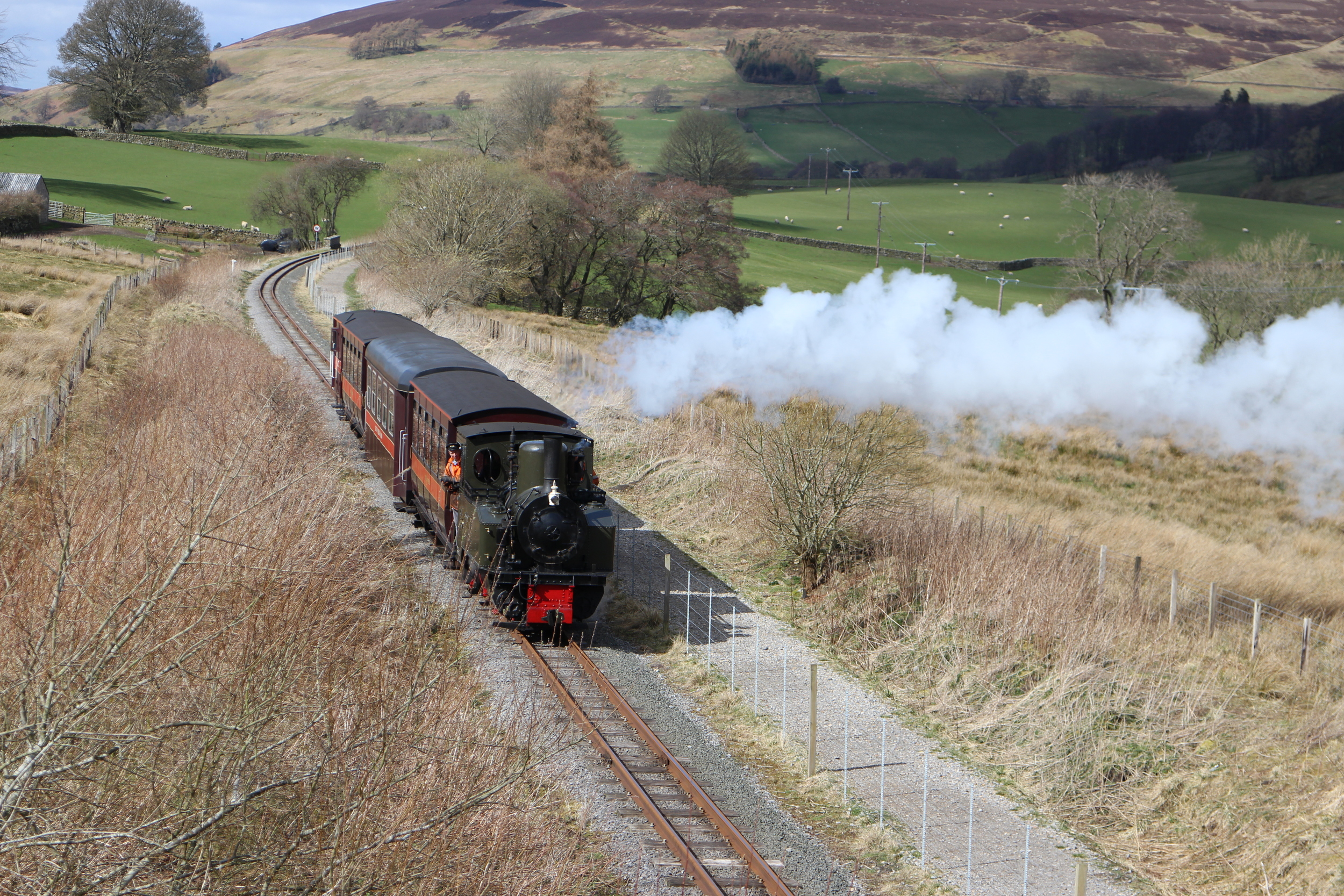 The steam train to Alston
