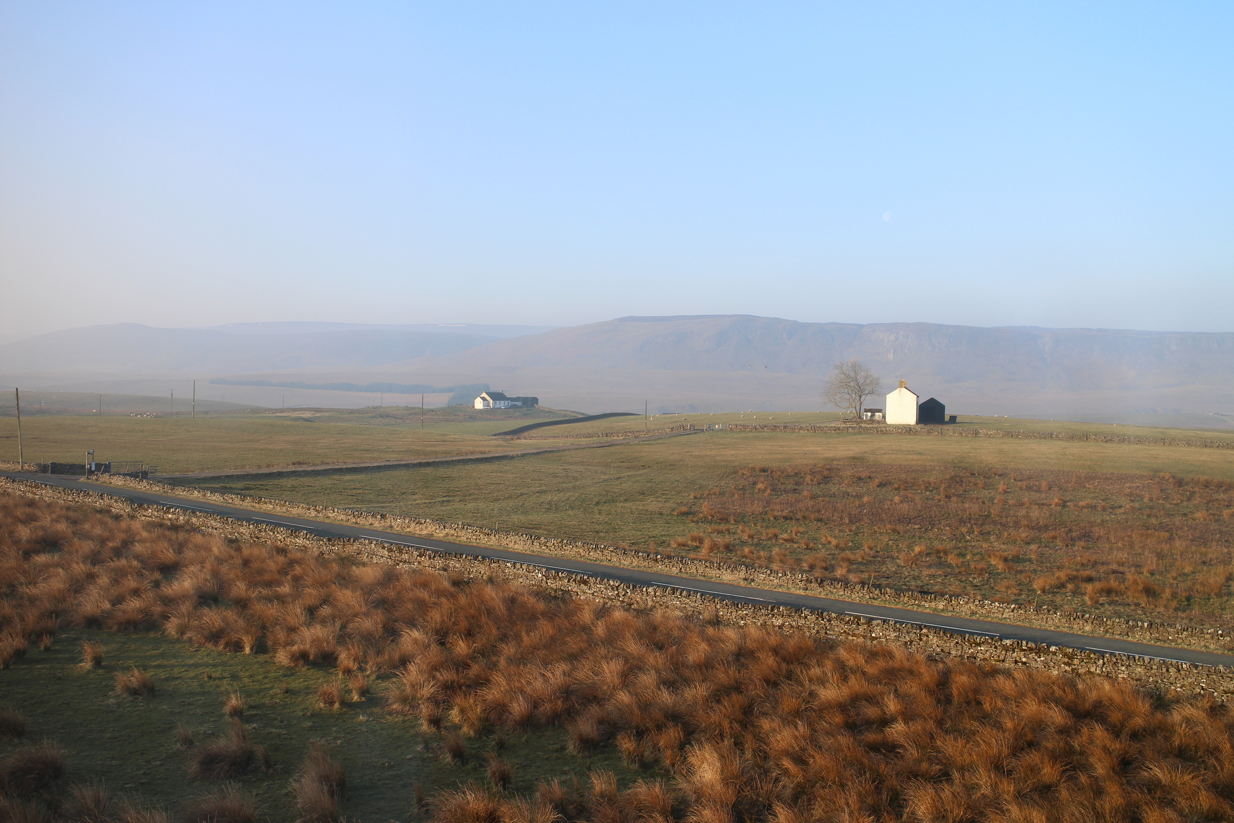 Room with a view at Langdon Beck Youth Hostel