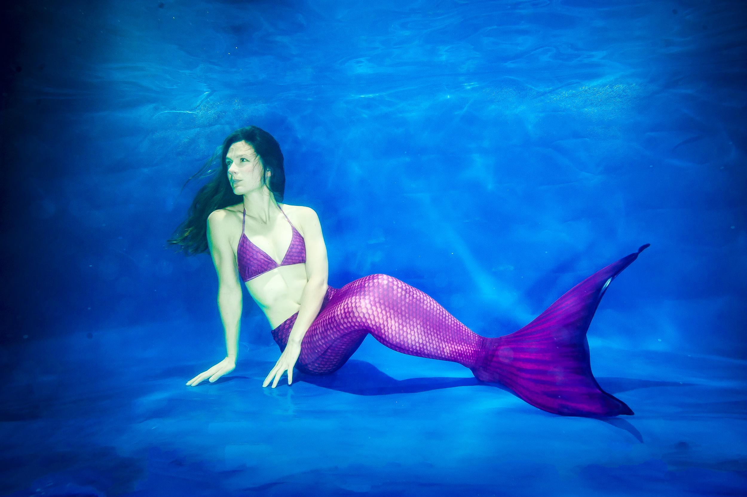 Channeling my inner Ariel (Image: Alastair Scarlett)