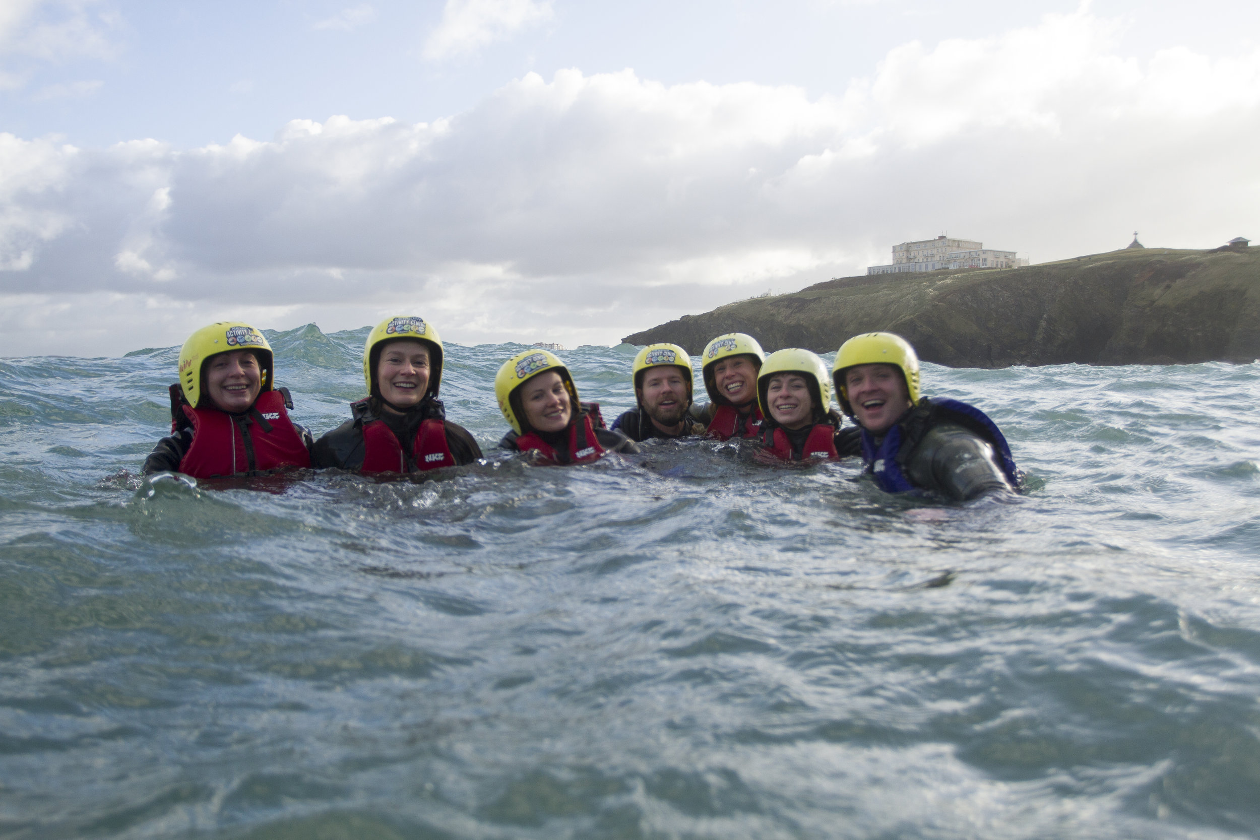 Feeling young again (Image:  Warrick Murphy /  Newquay Activity Centre)