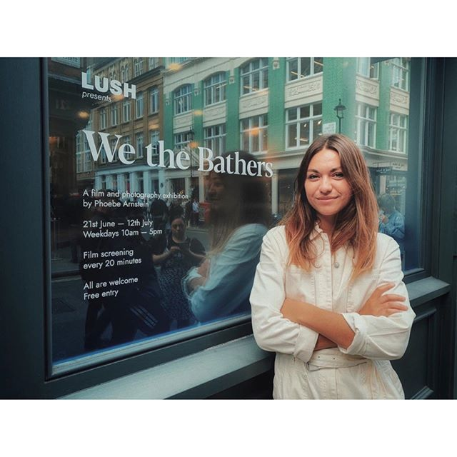 Thank you to everyone for making the premiere of 'We the Bathers' so bloody special last night. Reeling from the love. 💙 To the bathers, thank you for allowing me to step briefly into your world and for everything you shared. Everything is possible in life. 🔹 Now online via Lush (link in bio). The film will also be screening at Lush Studios on a loop for the next month. Stick ya head in. 🔹 Big shout out to @theannexfilms and the @lush team for working tirelessly to make last night what it was and to my @ledgerlomas for curating my exhibition. Last but not least, my team on the road @ameliahazlerigg @basilstephens & @rewsio - we did it. 🔹 📸 @timotheous