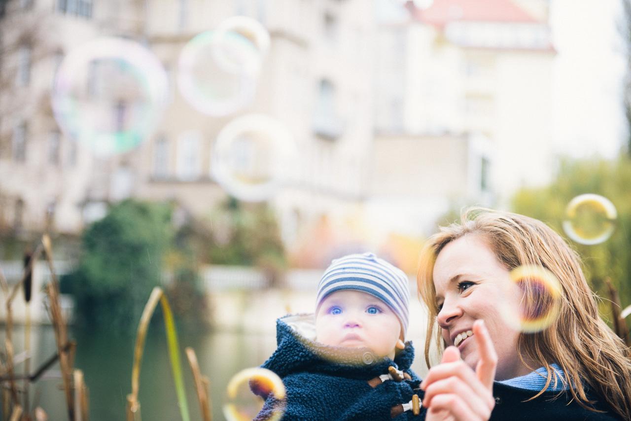 Seifenblasen Kinderfotos